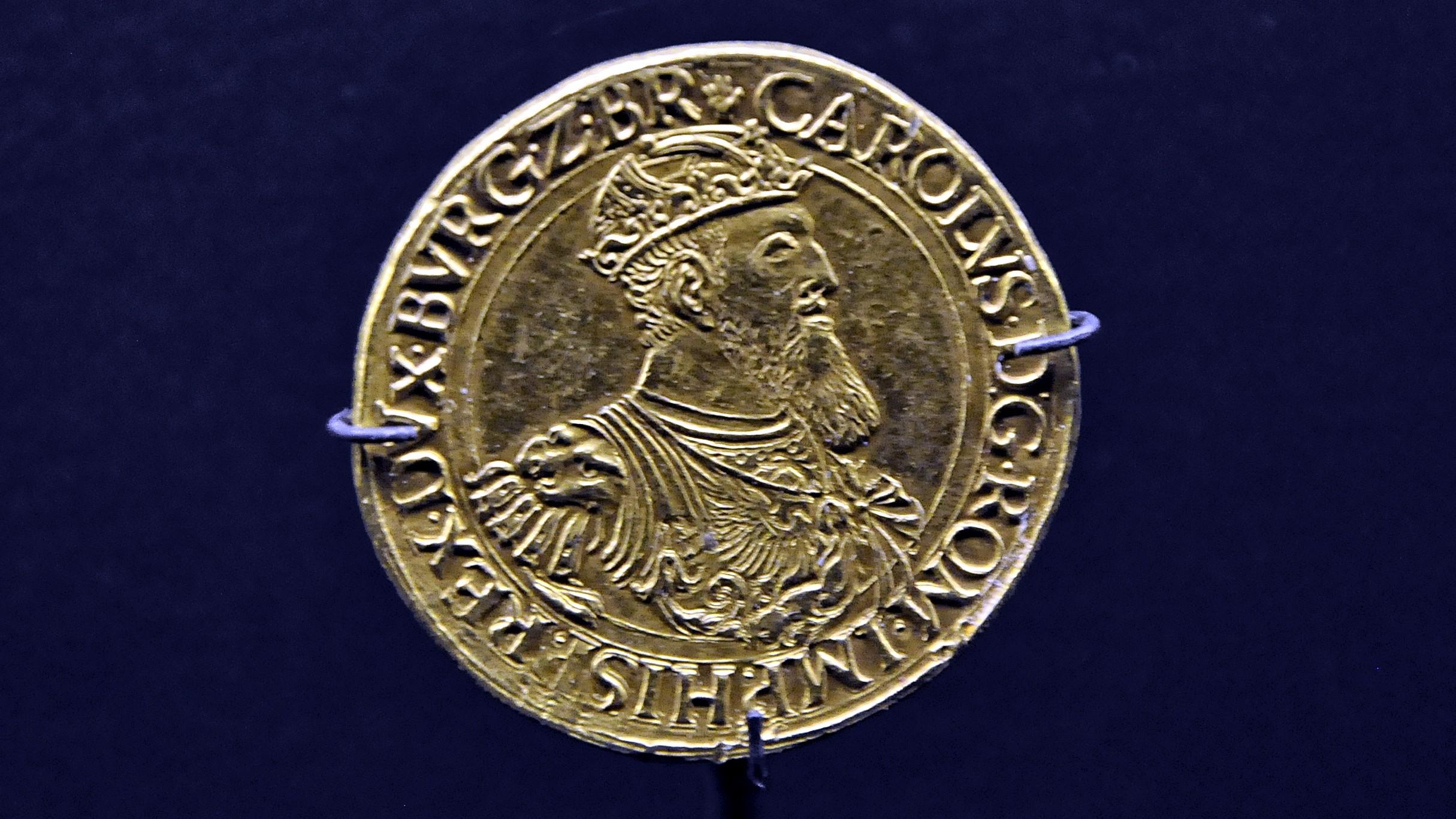Description MAS Karel V Carolusgulden (1552) - 30-05-2012 13-50-36.JPG
