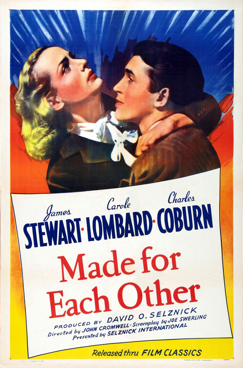 Image result for made for each other 1939