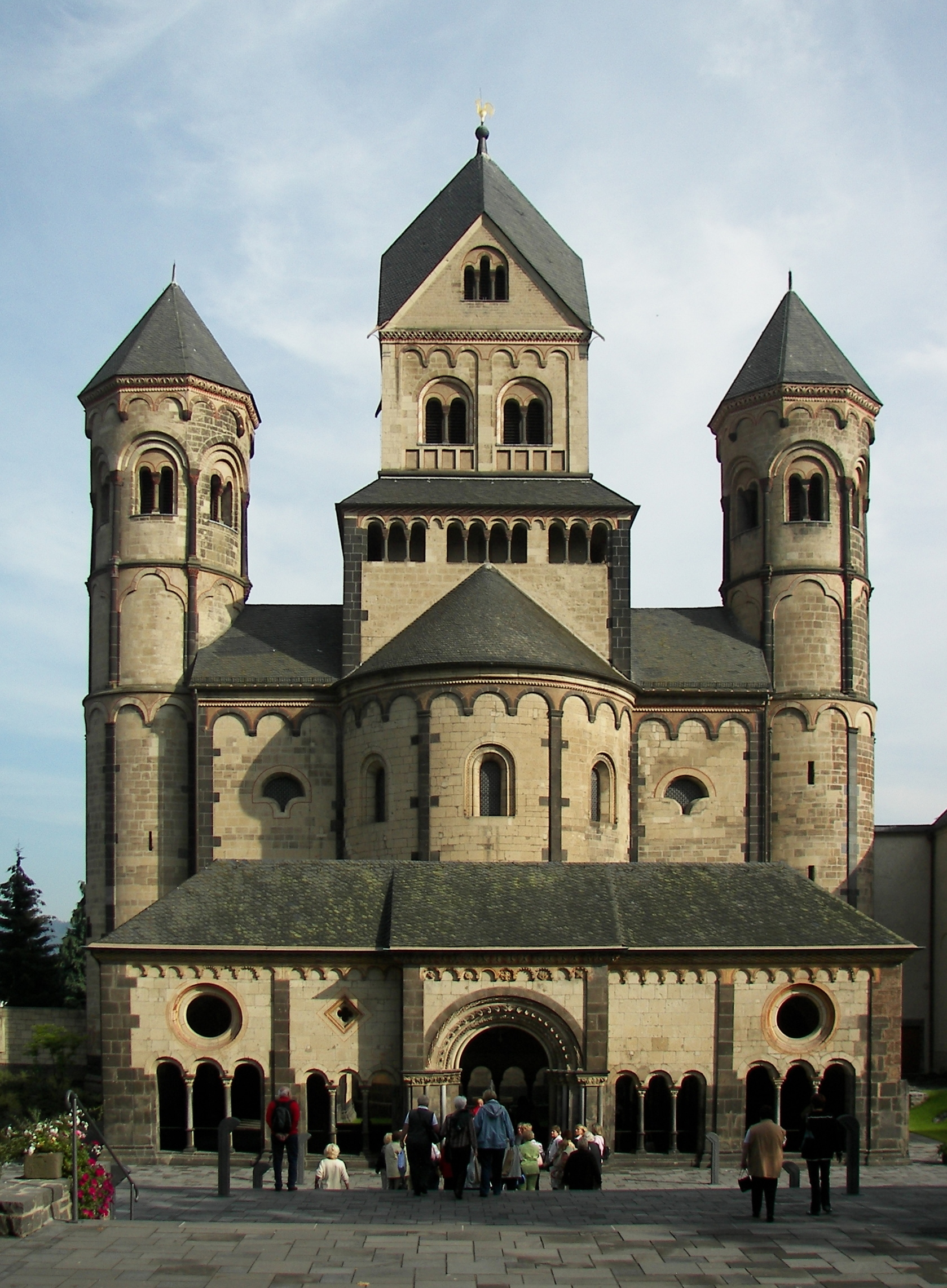 Romanesque Revival Architecture In Germany