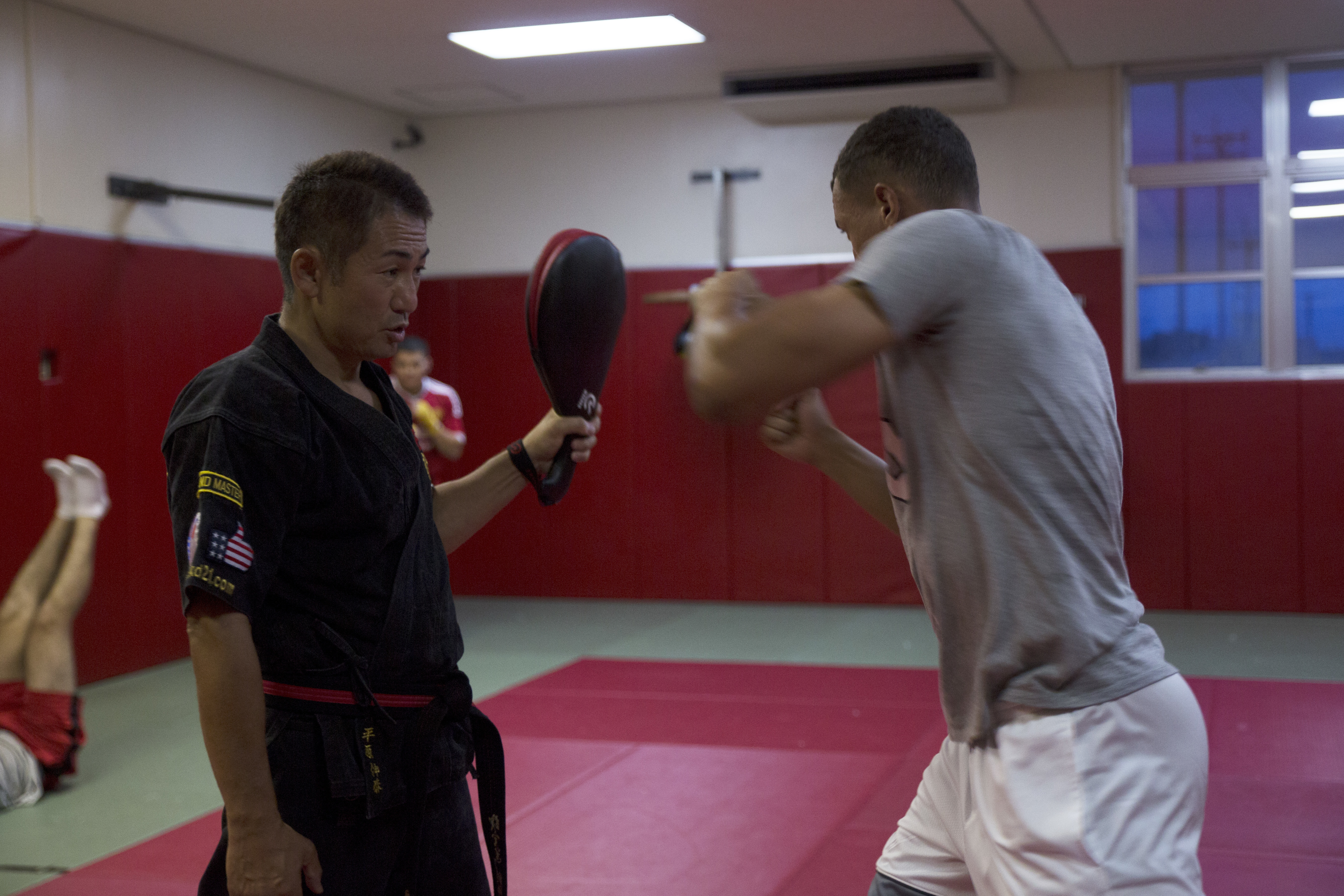 Filemartial Arts Master Kicks Classes With Status Of Forces