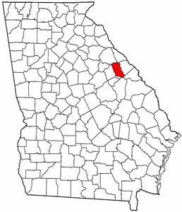 McDuffie County Georgia
