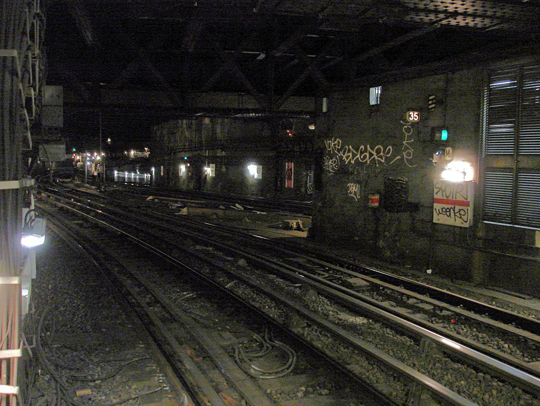 Raccord ligne 5 7 métro Gare Est