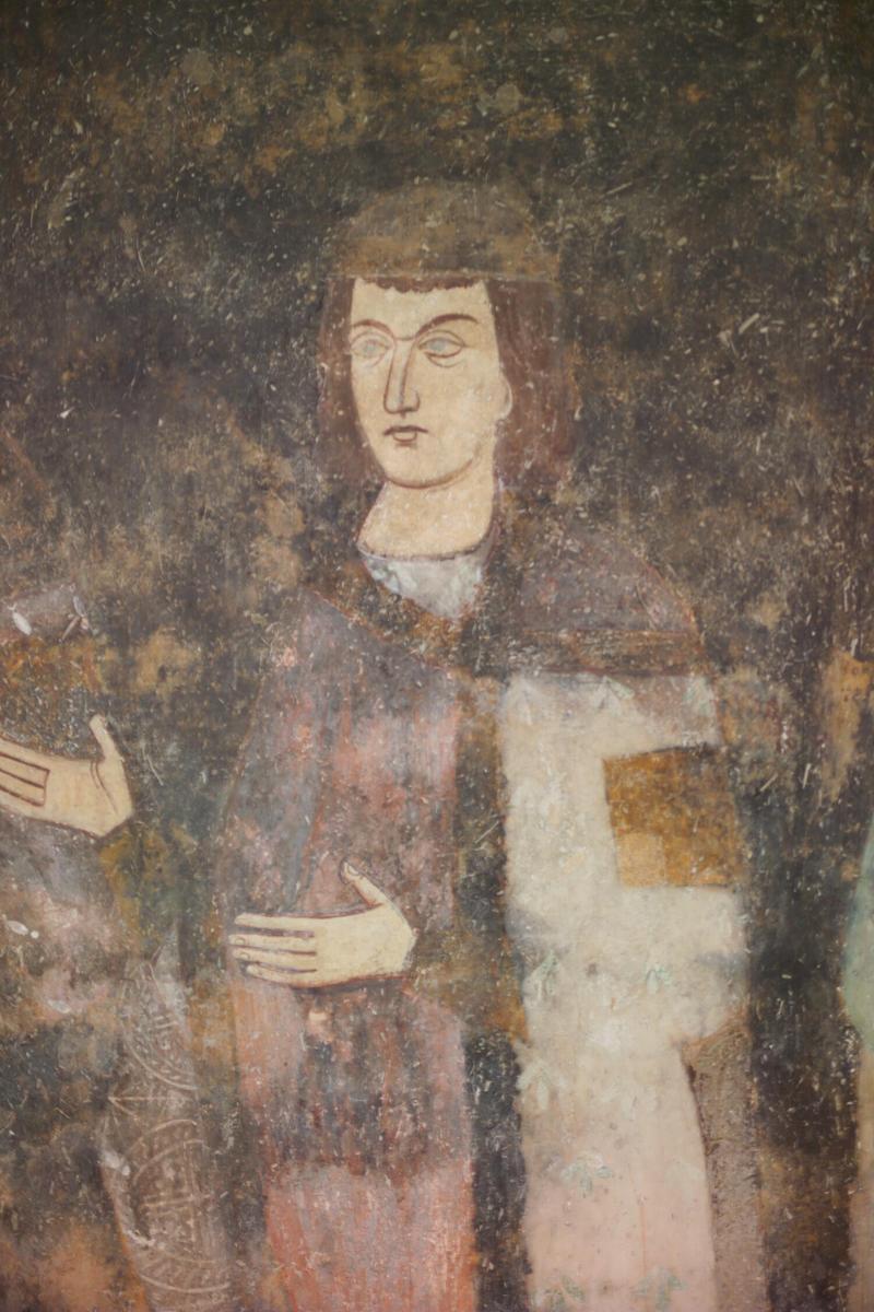 Unge fyrst Milutin, freske fra klosteret Sopoćani