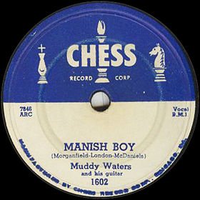 "Chess record ""Manish Boy"" by Muddy Waters"