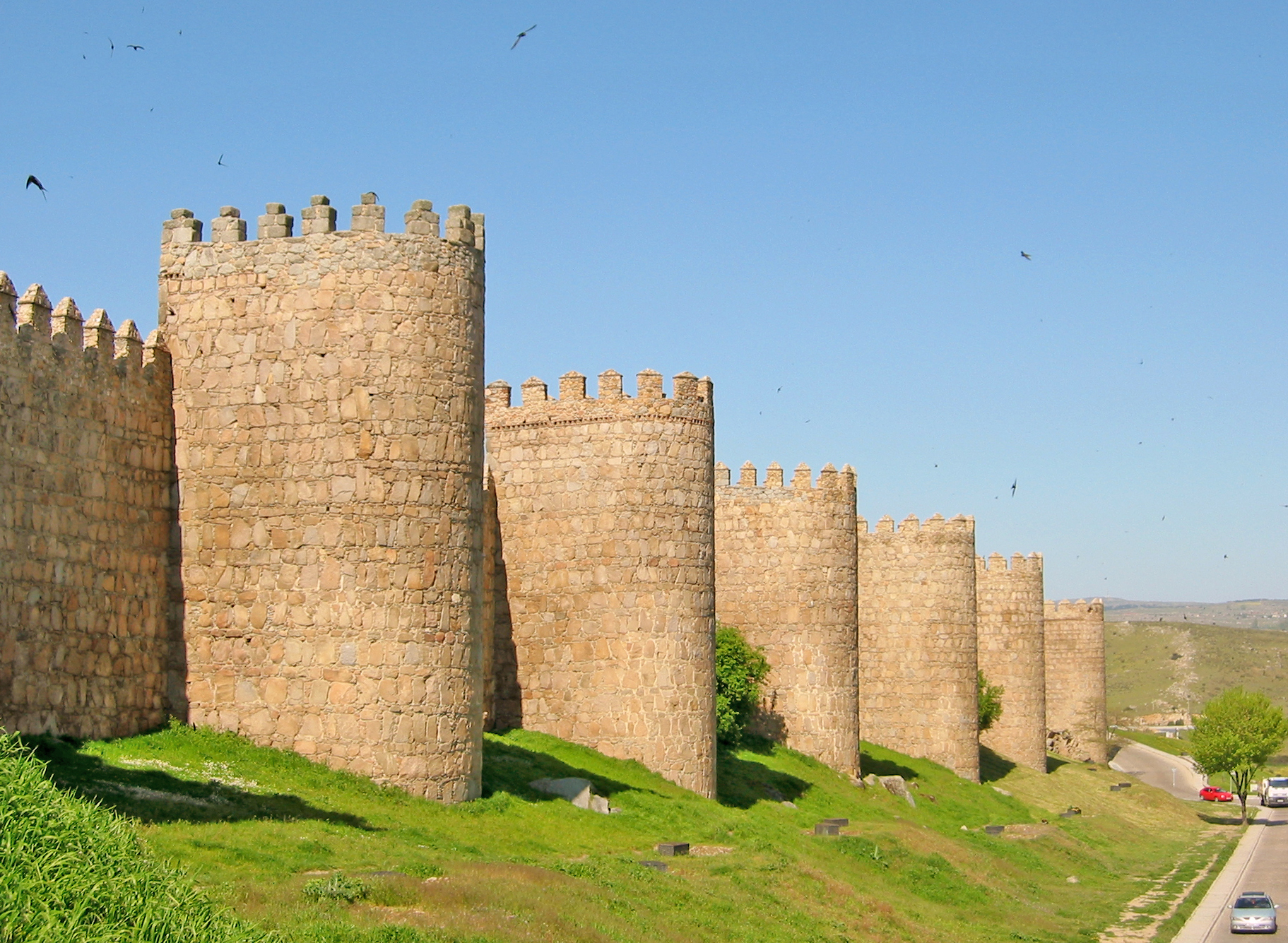 File:Muralla de Ávila 01.jpg - Wikipedia, the free encyclopedia