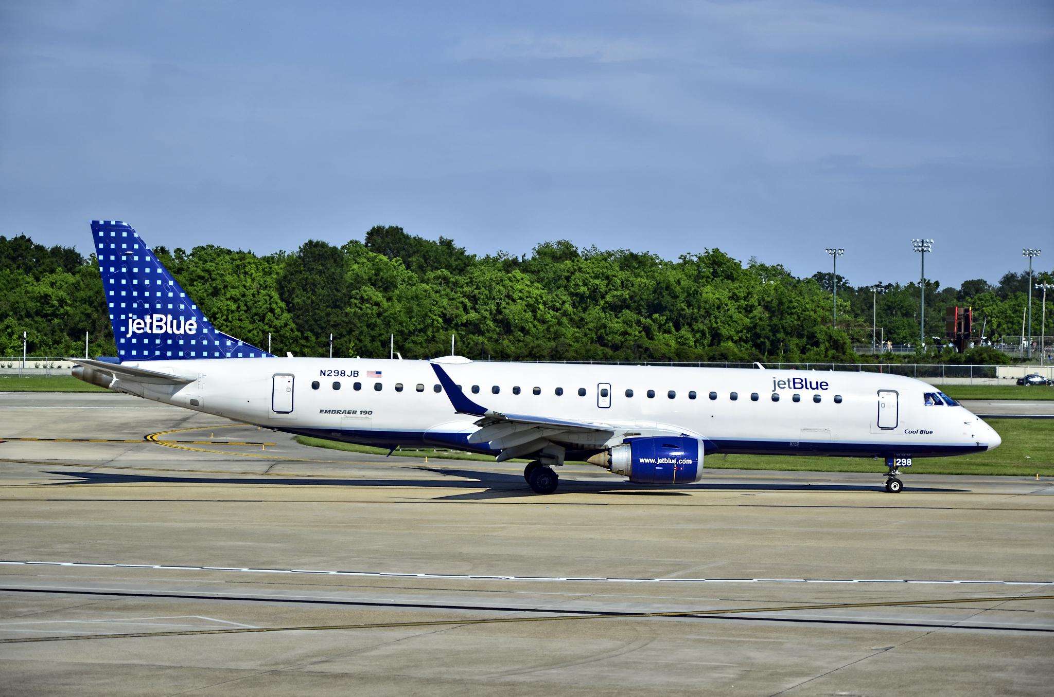 América Fora de Aerovia: JetBlue Airways