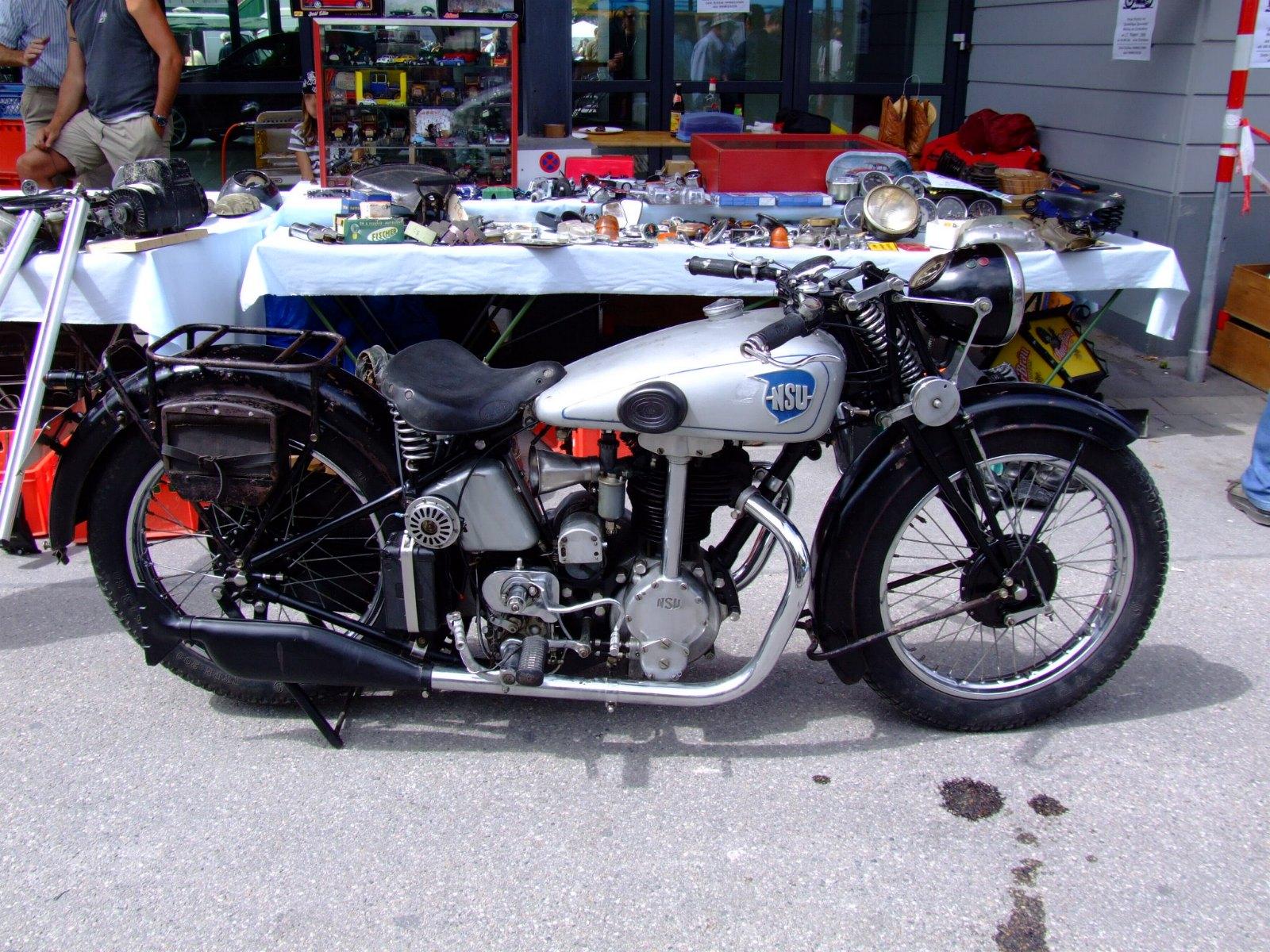 nsu motorsykkel