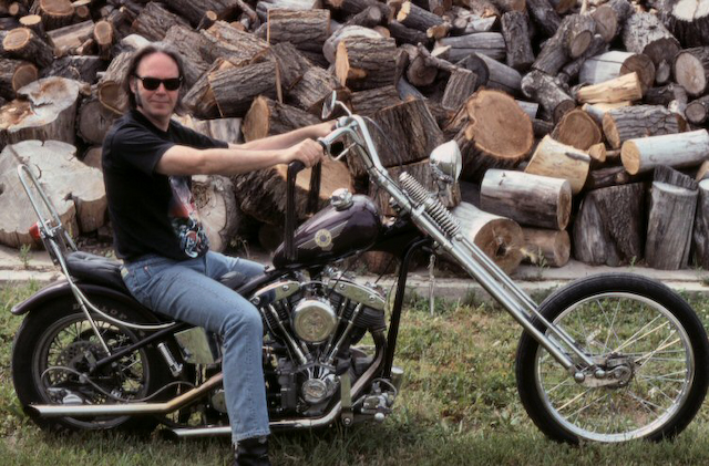 Neil Young en 1992.