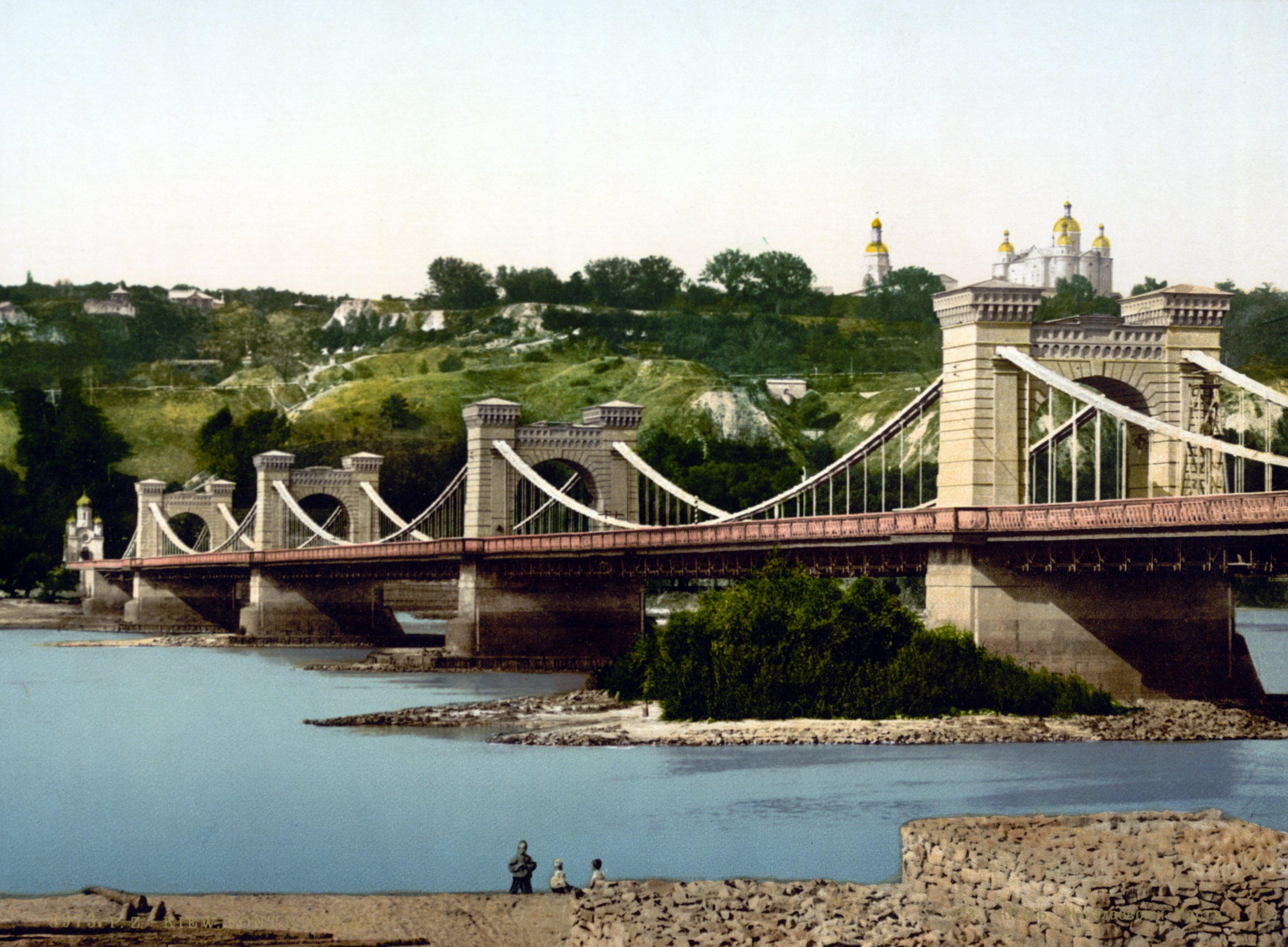 Николаевский цепной мост — Википедия