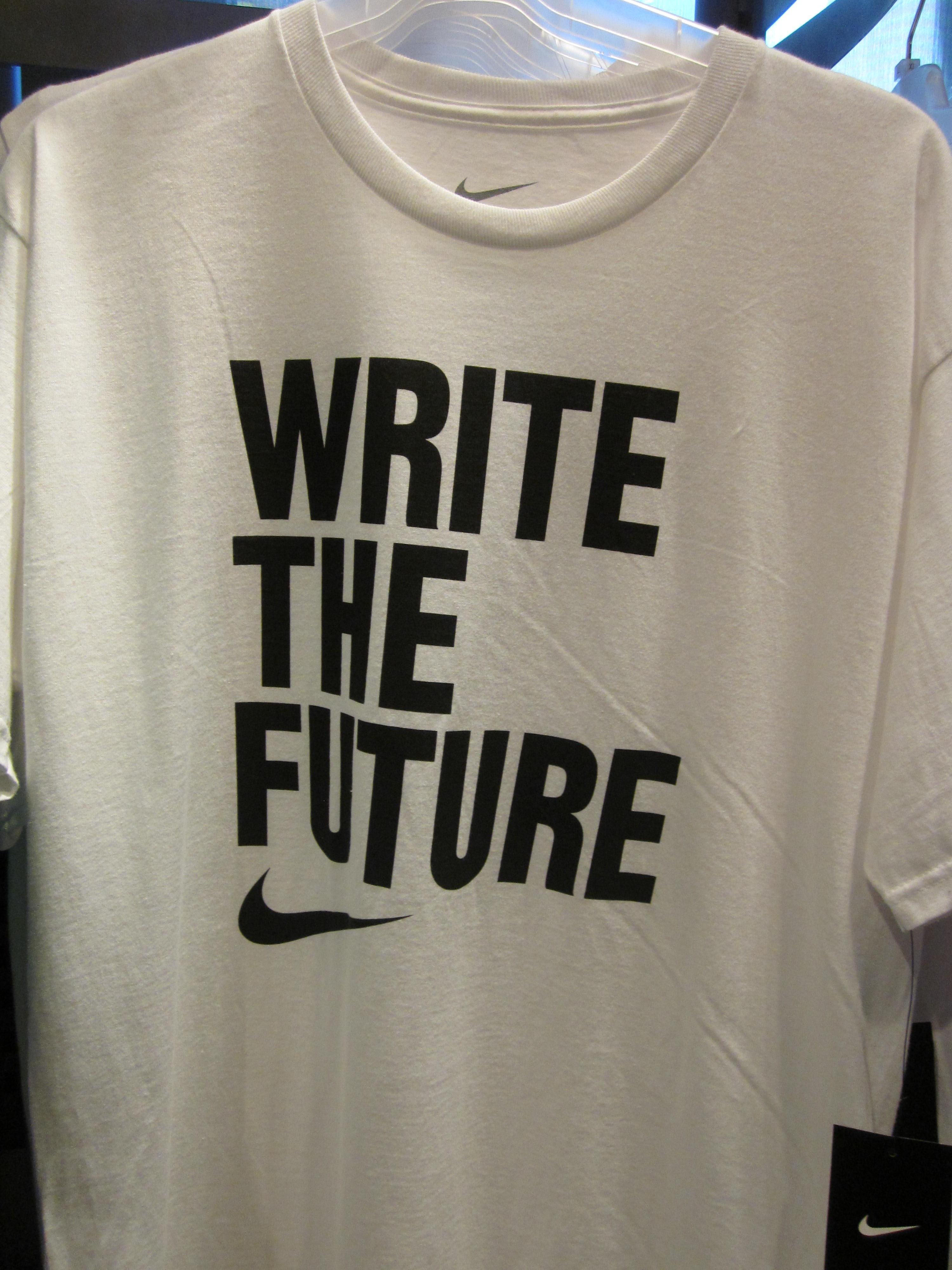 info for 36c26 88542 File Nike Write the Future soccer shirt.JPG