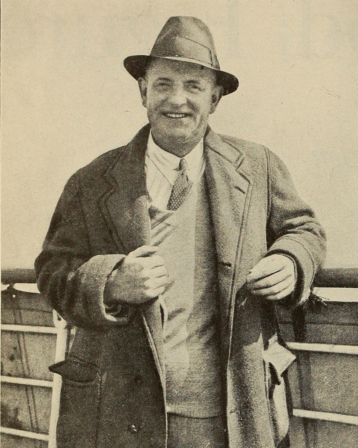Portrait of P. G. Wodehouse