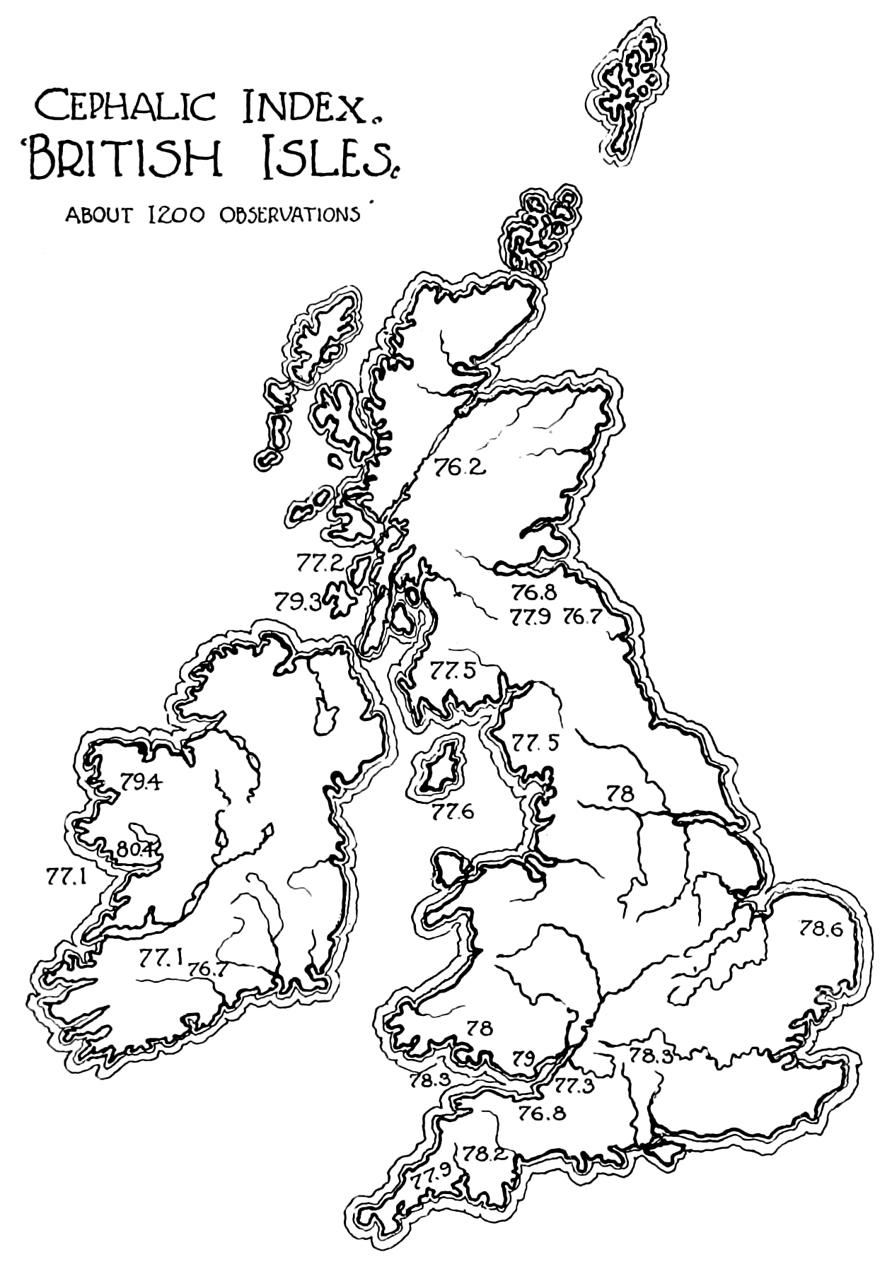 PSM V52 D162 Cephalic index of the british isles.png