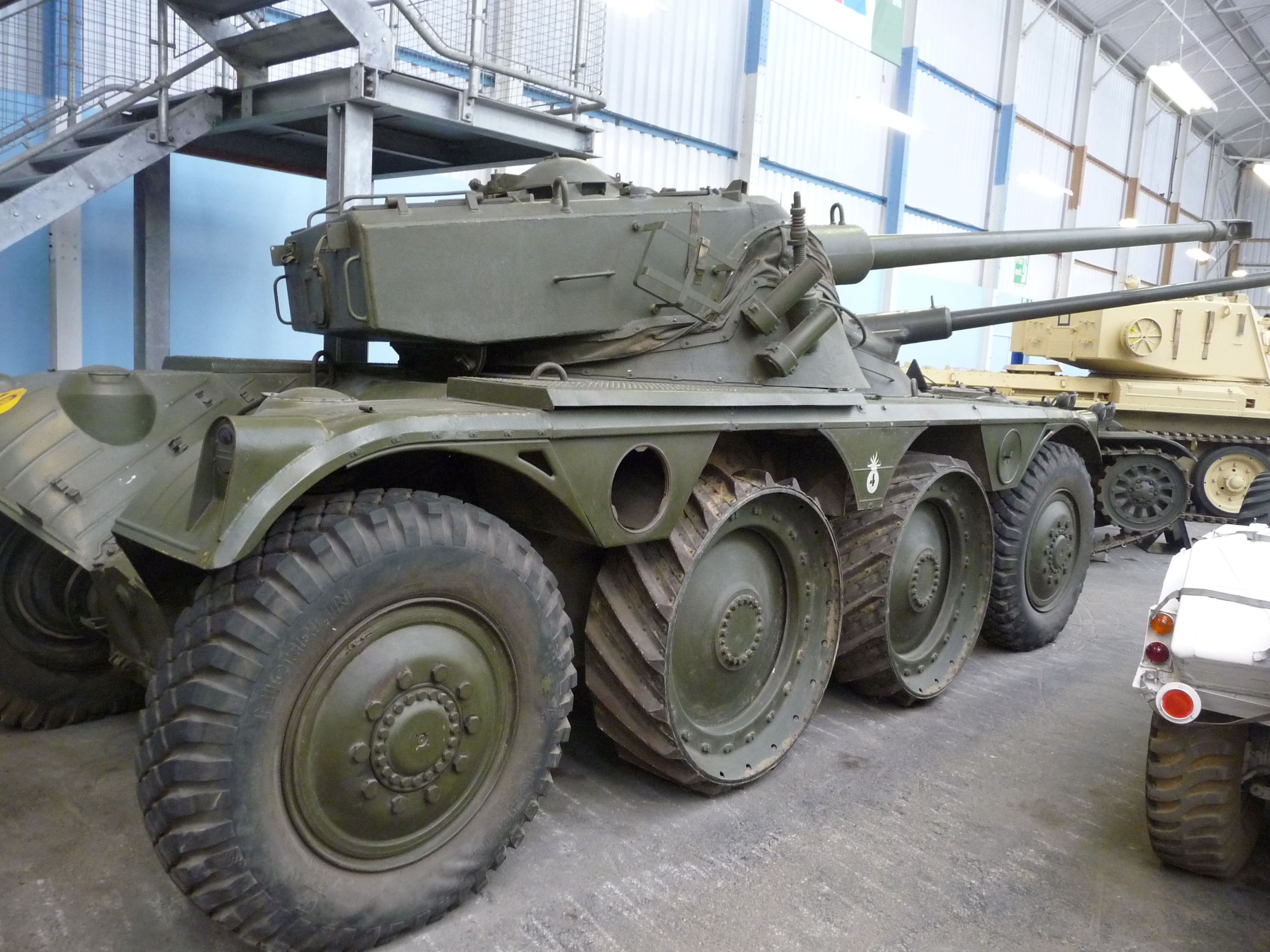 File Panhard Ebr 75 Heavy Armoured Car Fl 10 Turret