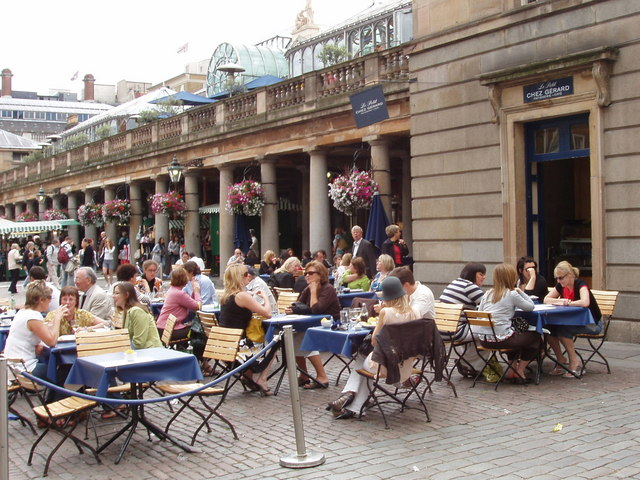 Covent Garden Cafes Coffee Shops