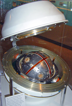 Peacekeeper ICBM Inertial Measurement Unit