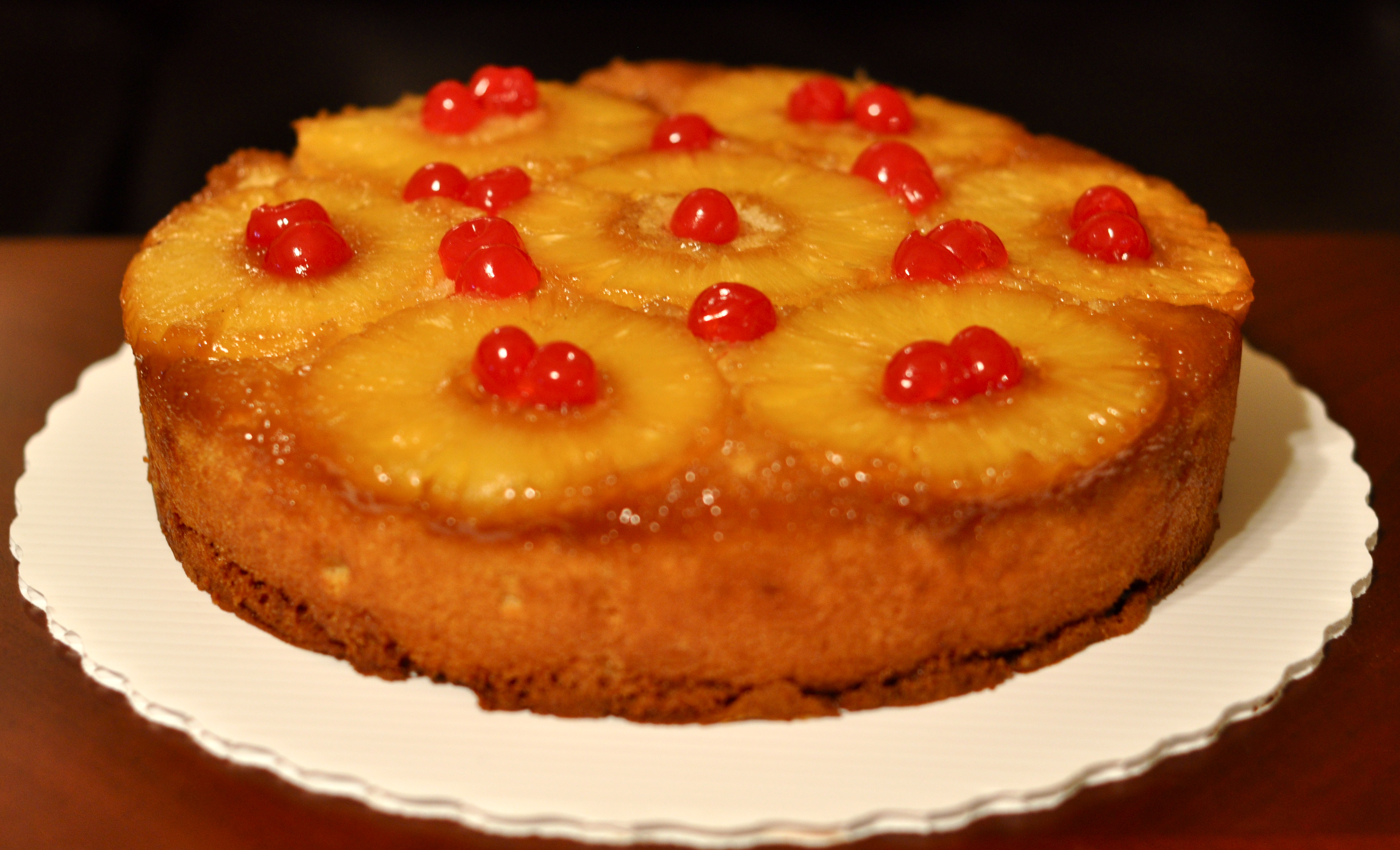Pineapple Upside Cake Bundt Pan