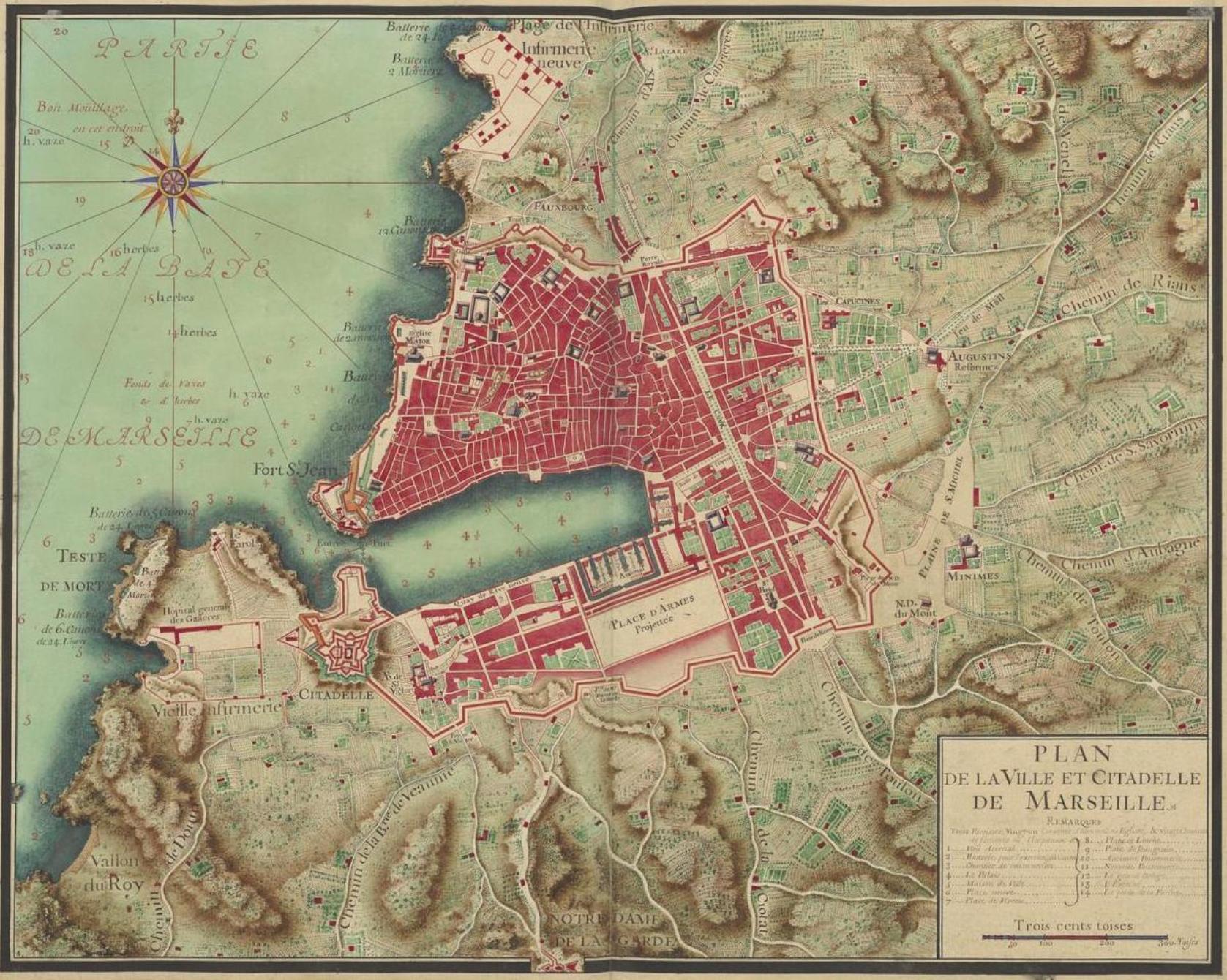 Le Plan De La Ville De Domarin