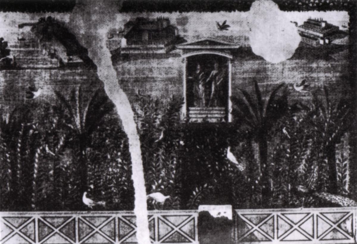 File pompei casa delle amazzoni particolare di una for Disegno del programma di casa