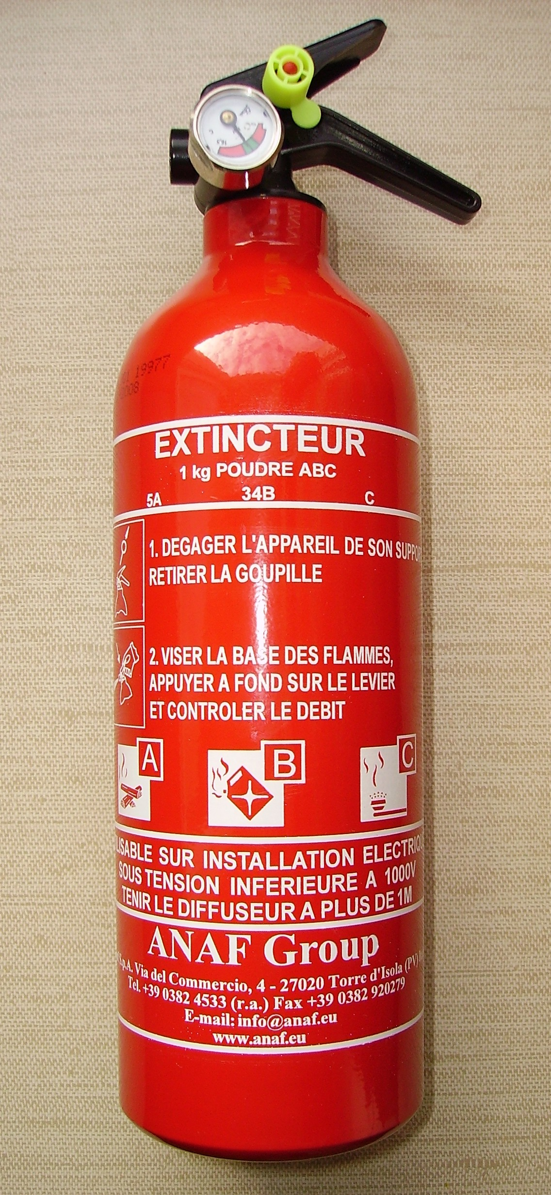 Portable Fire Extinguisher For Commercial Kitchen