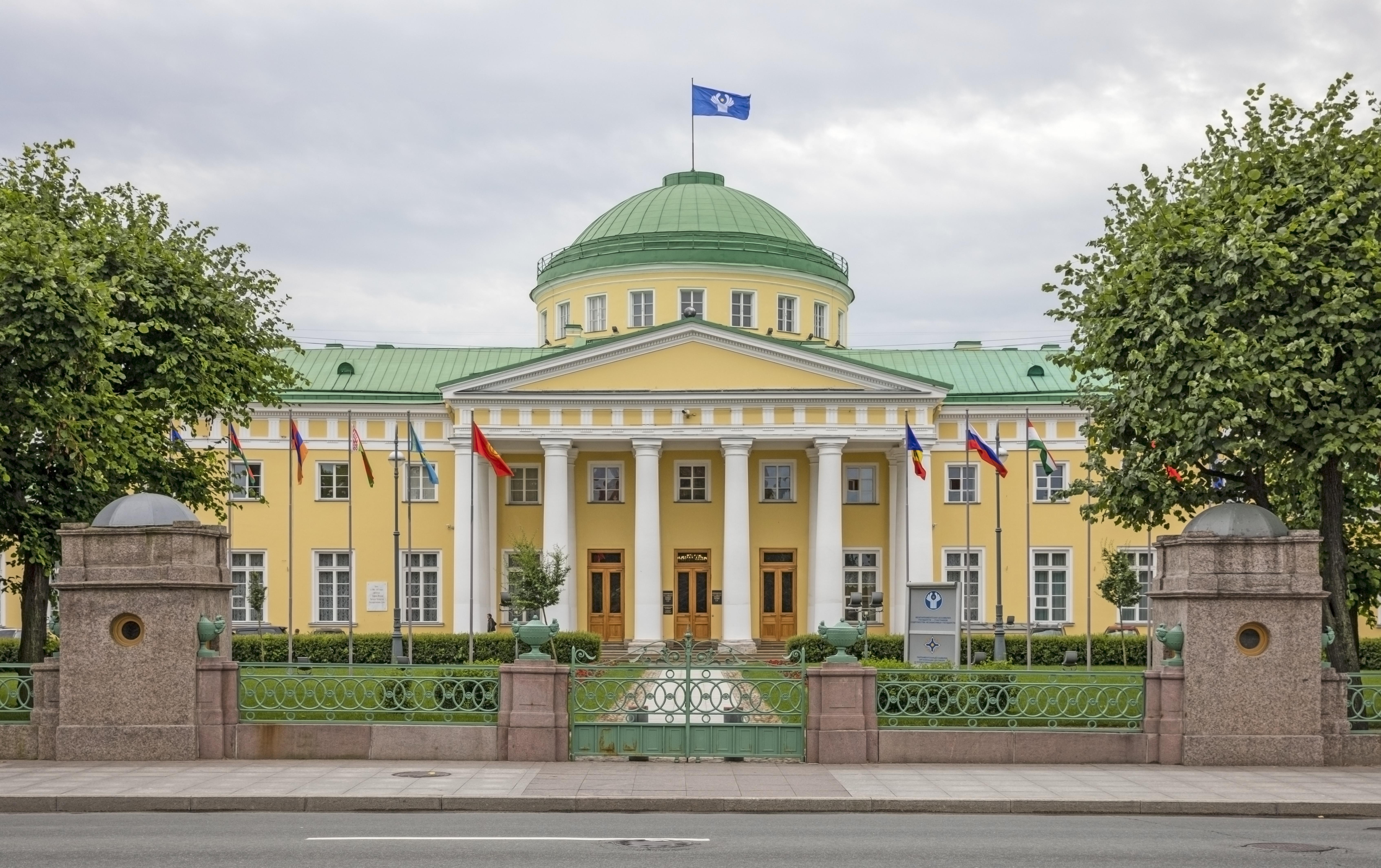 Orangery of the Tauride Garden in St. Petersburg 23