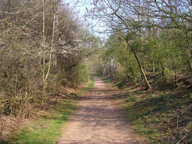 Railway Walk - geograph.org.uk - 405648