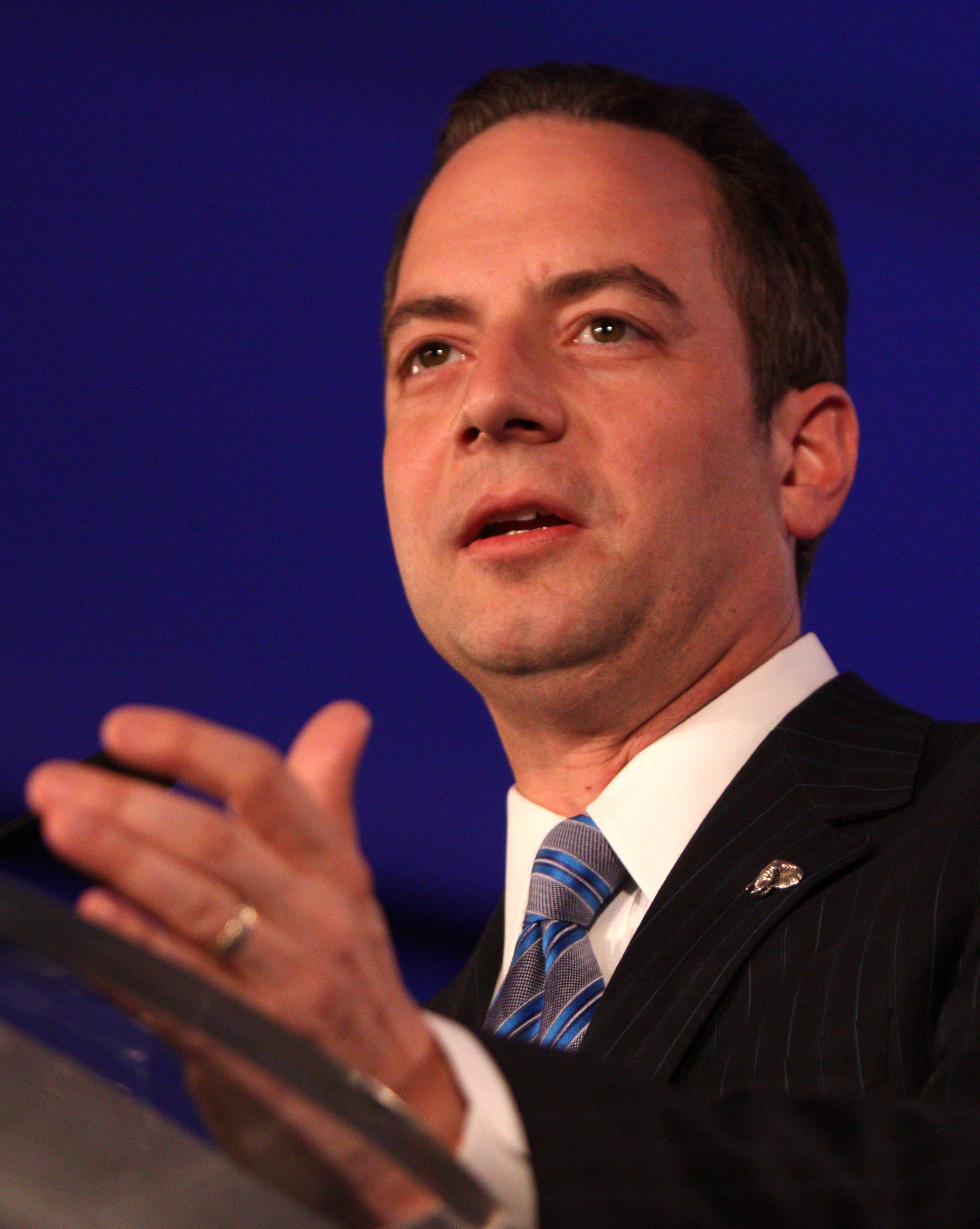 The 49-year old son of father Roula Priebus and mother Dimitra Priebus Reince Priebus in 2021 photo. Reince Priebus earned a  million dollar salary - leaving the net worth at 2 million in 2021