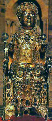 Les mystérieuses cités d'or : vers le nouveau monde Reliquaire_de_sainte_foy