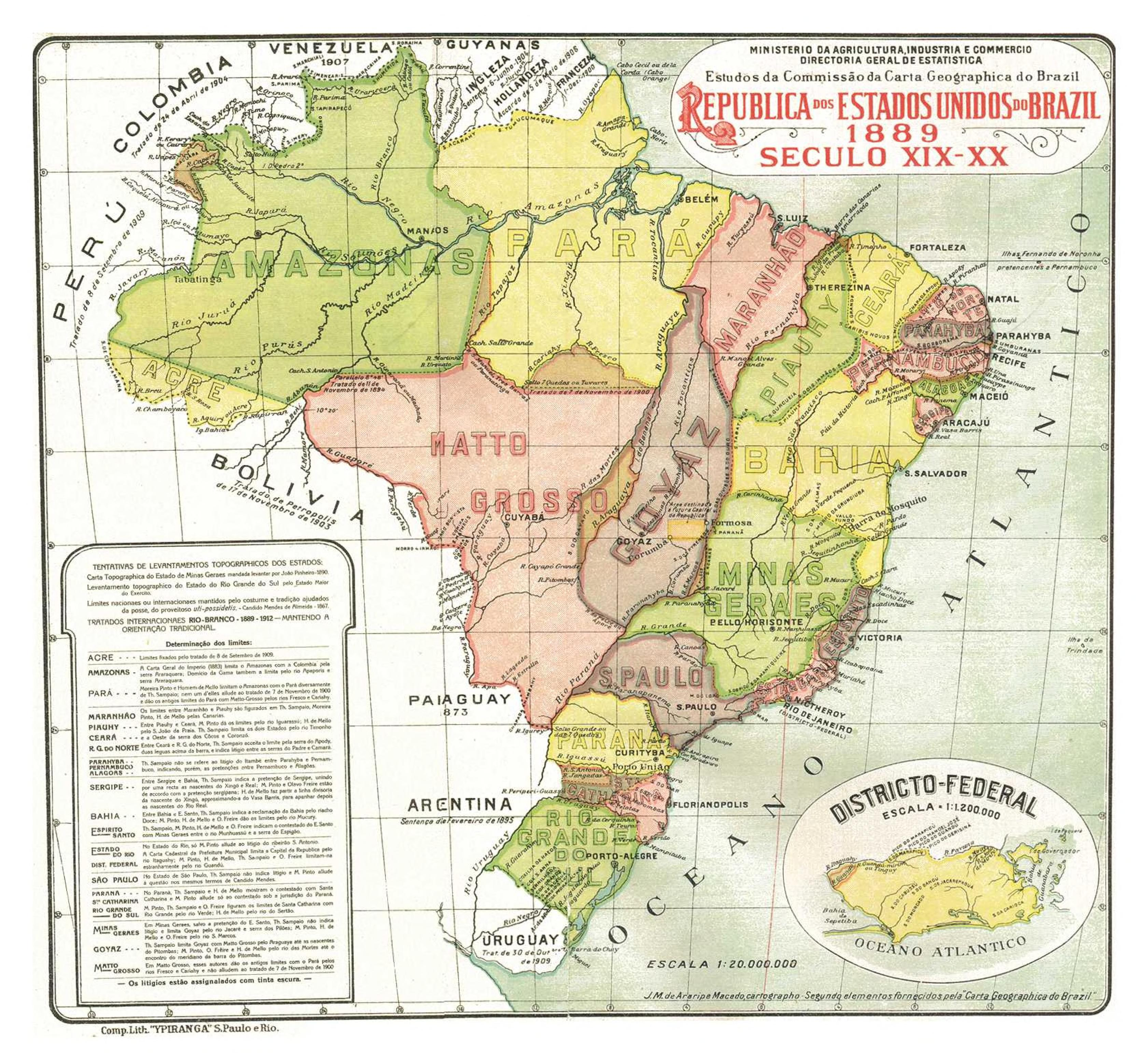 Republic Of The United States Of Brazil MAPS Pinterest - democratic republic of the clickable map