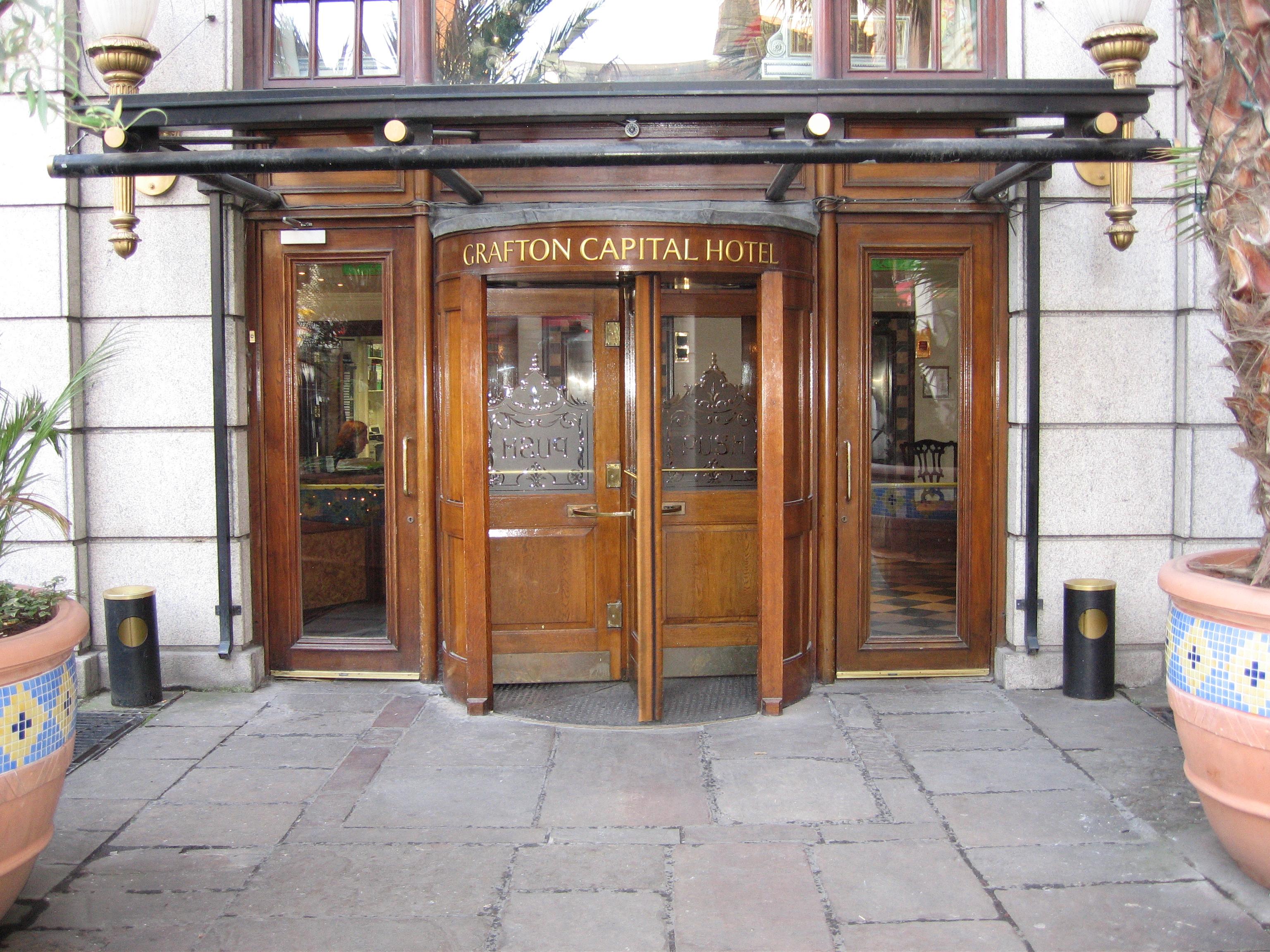 Grafton Capital Hotel Closed