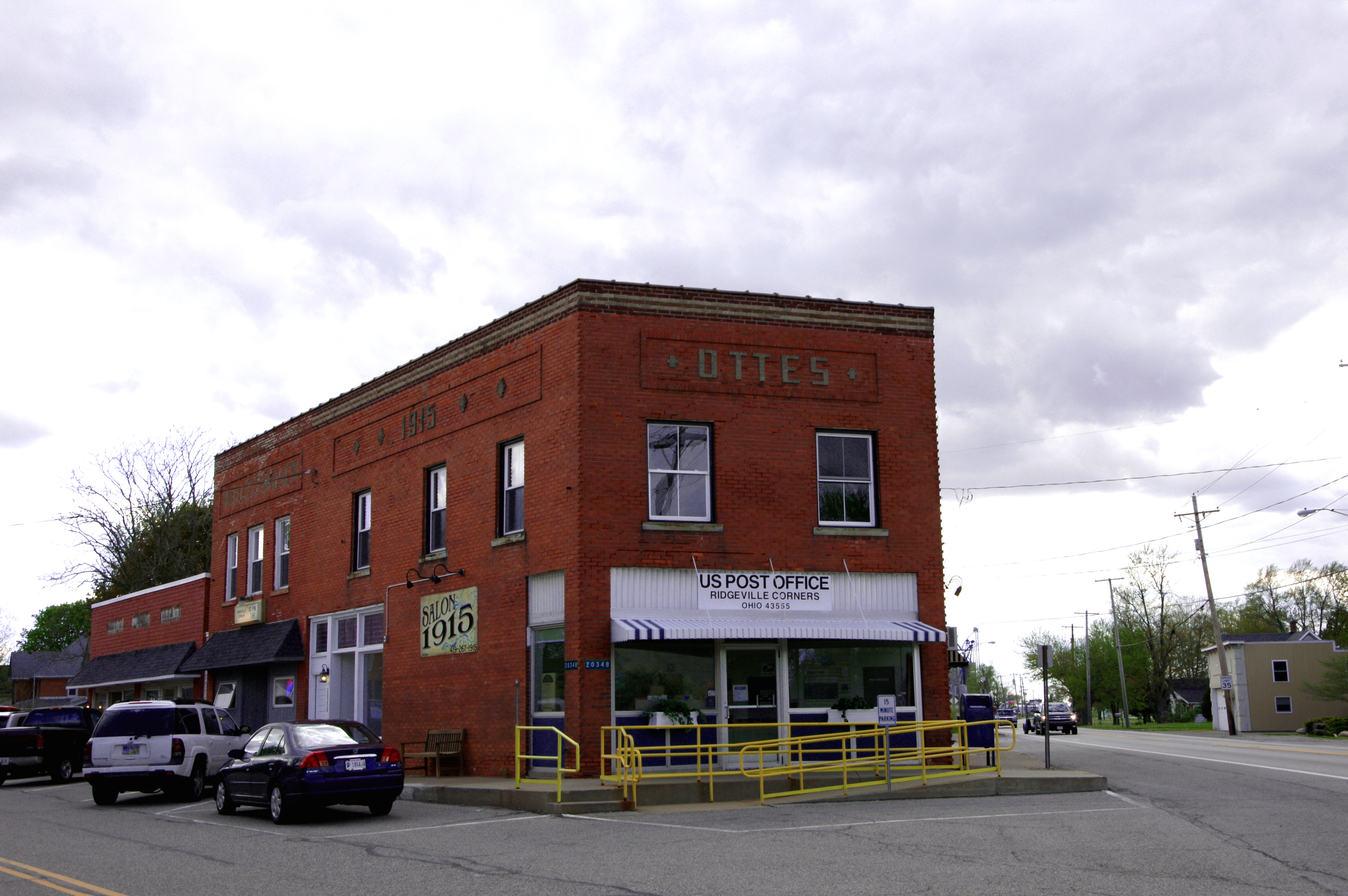 Ohio henry county ridgeville corners - File Ridgeville Corners Post Office Png