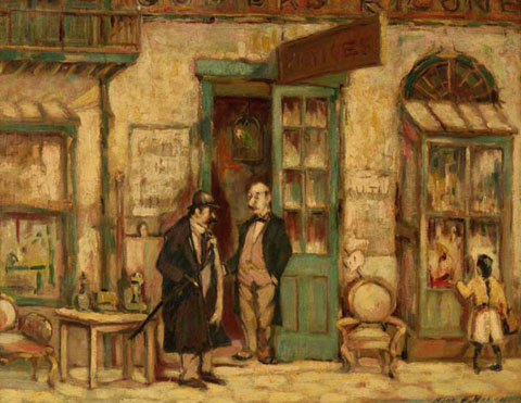 File:Royal Street Antique Shop 1918 Harry Armstrong Nolan.jpg
