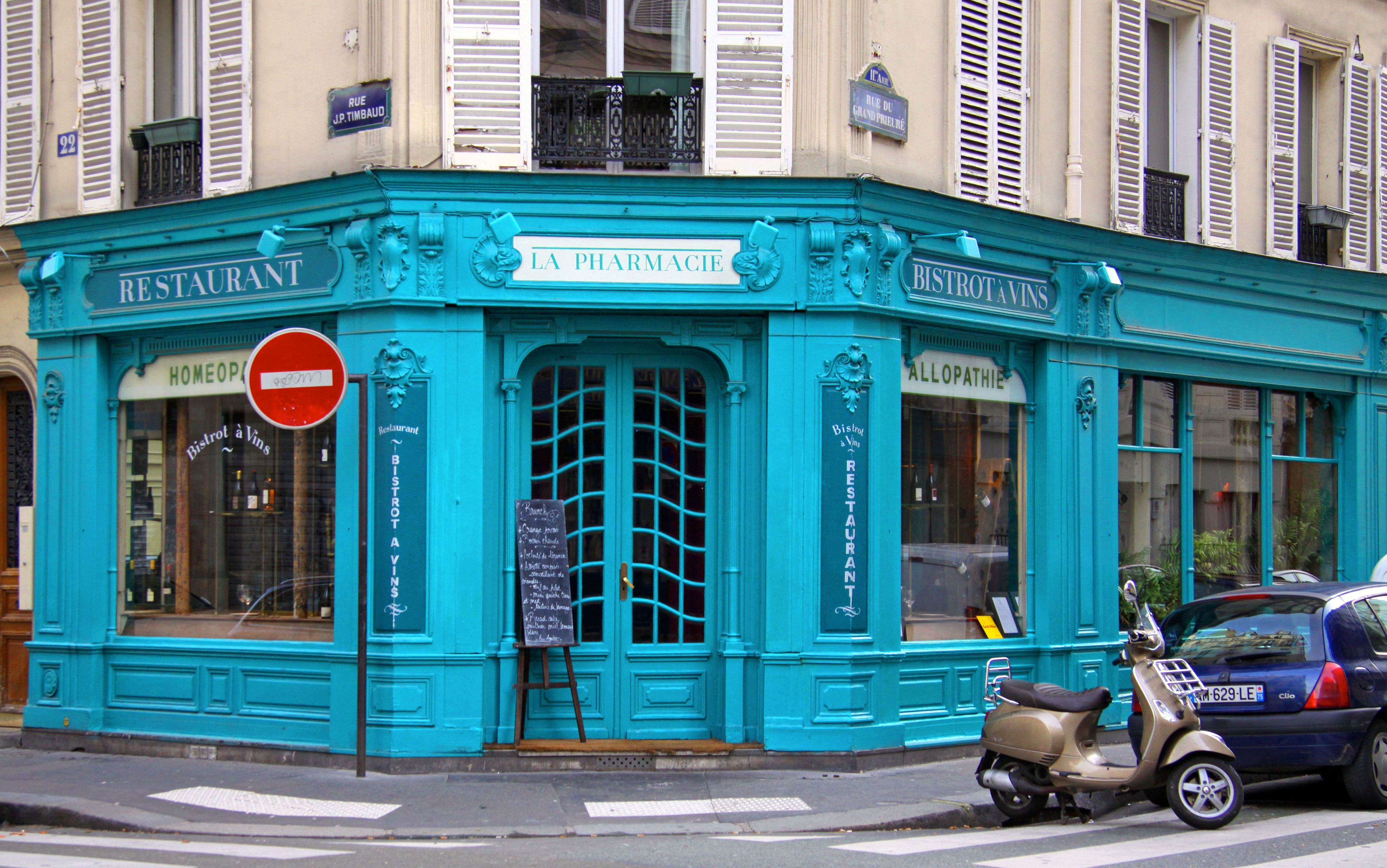 La Pharmacie Paris Restaurant