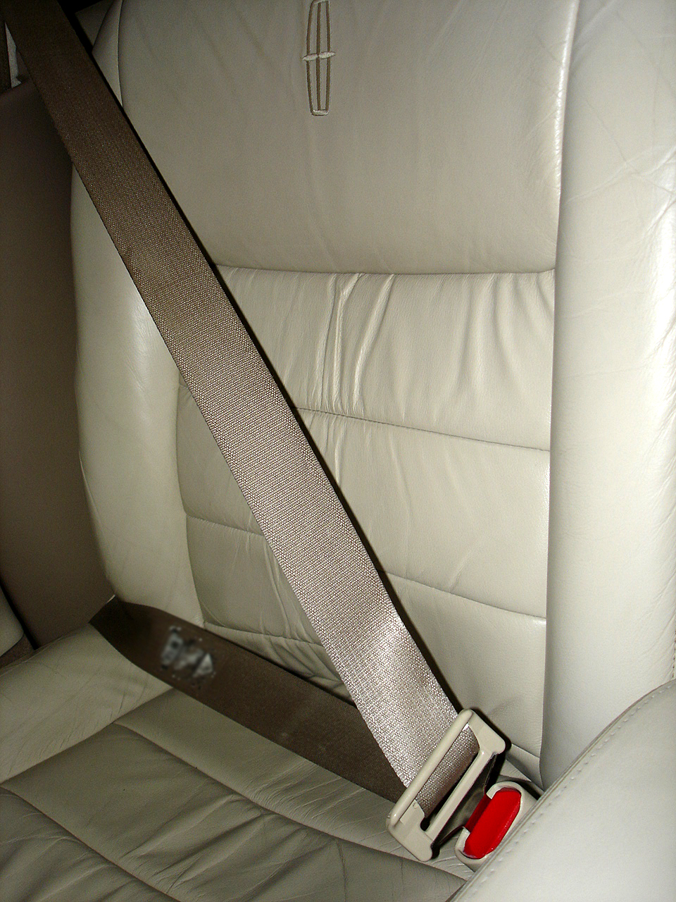 Seat Belt In A Car