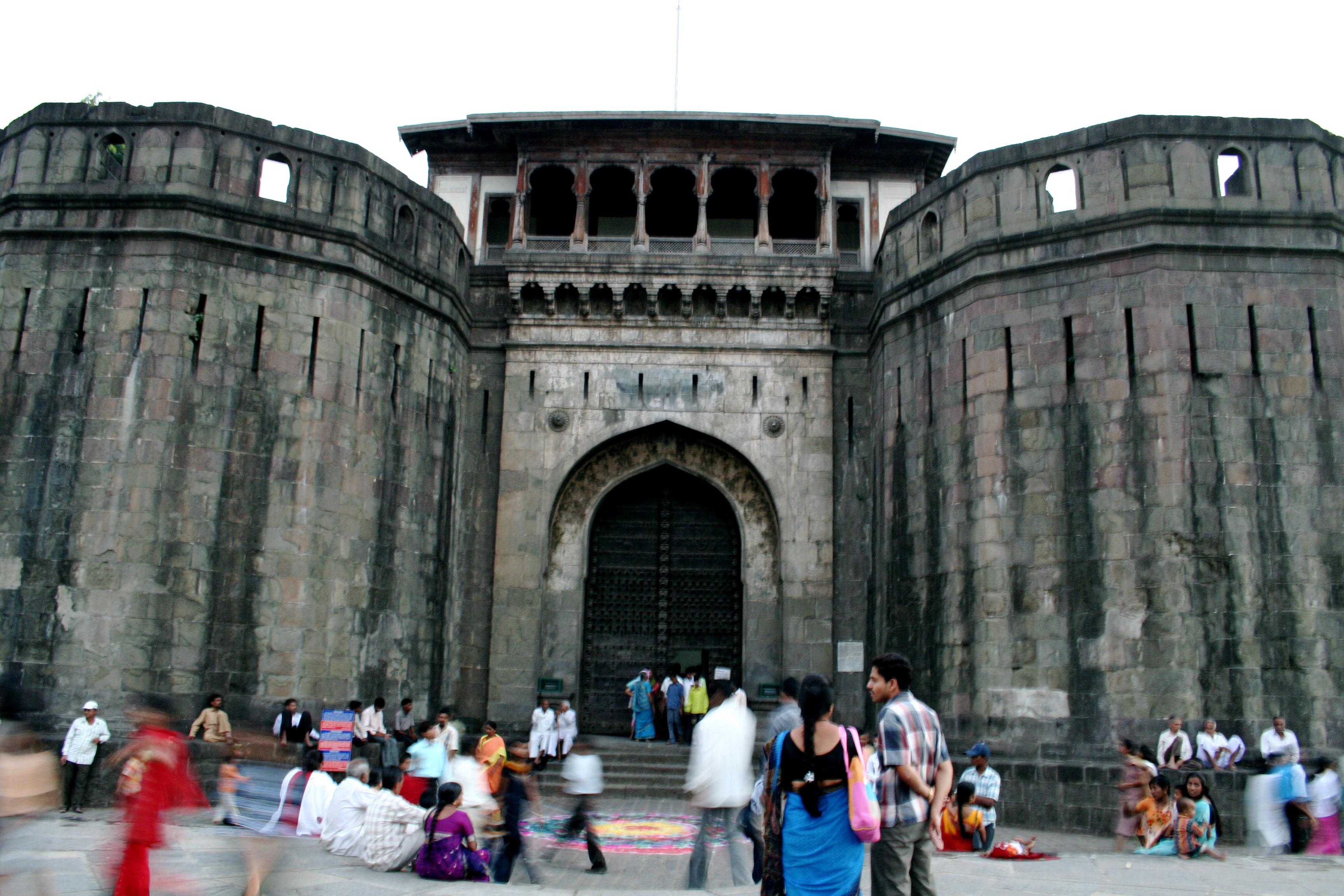 File Shaniwar Wada Fort Wikimedia Commons
