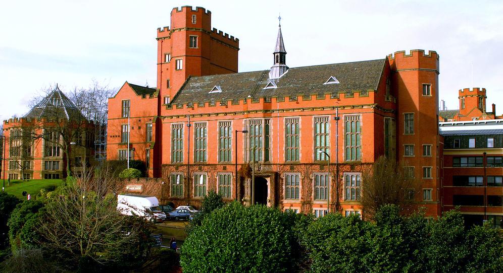English: The University of Sheffield