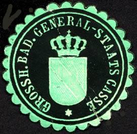 File:Siegelmarke Grossherzoglich Badische General - Staats Casse W0227313.jpg