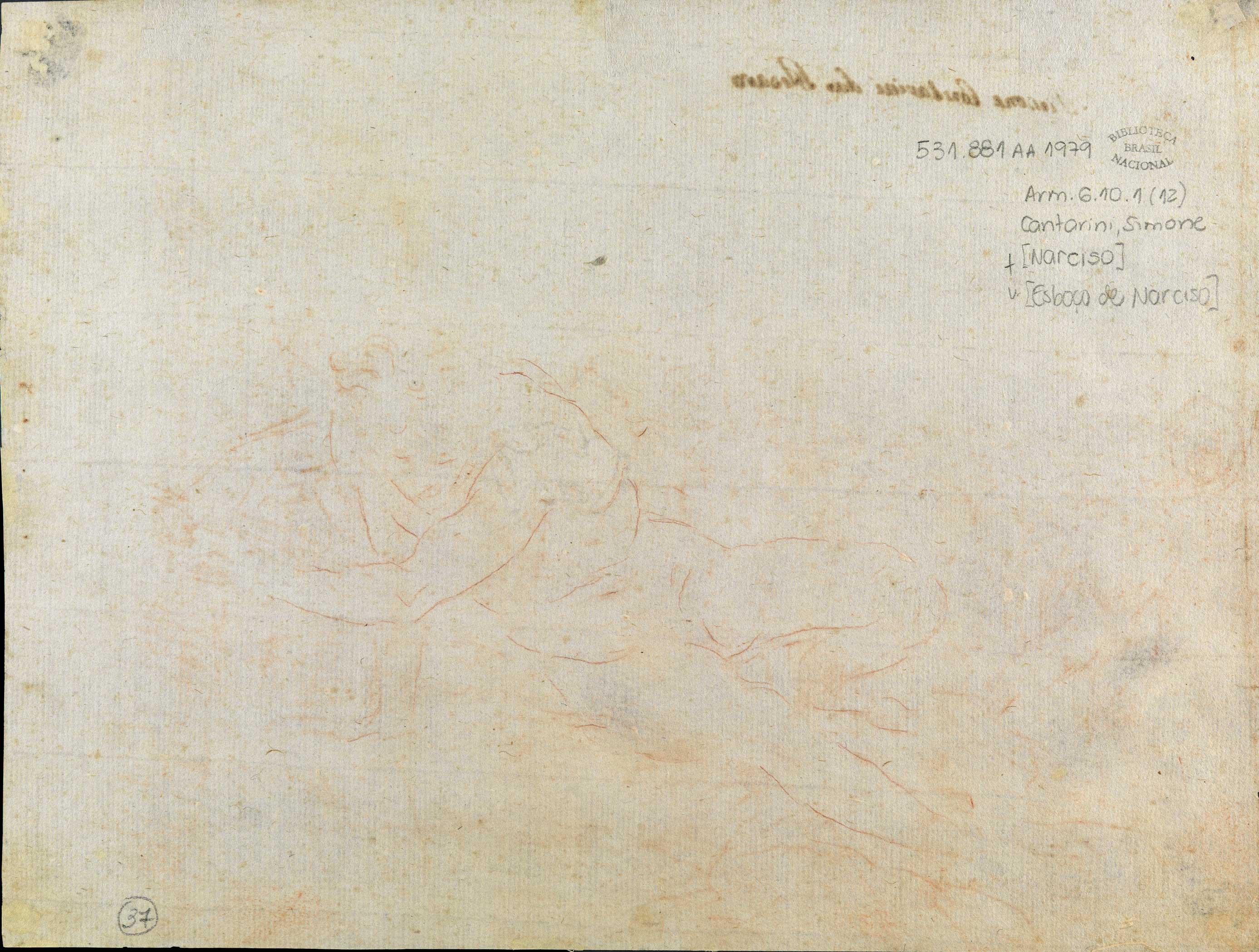 File Simone Cantarini Esboco De Narciso Jpg Wikimedia Commons