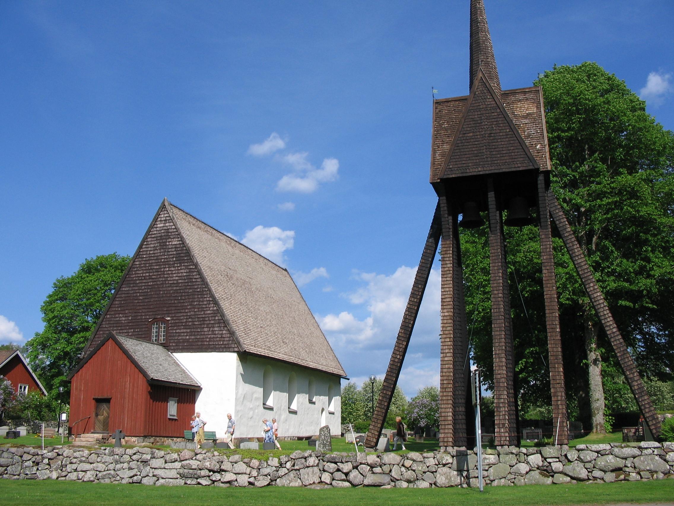 Fil:Sjss gamla kyrka, unam.net Wikipedia