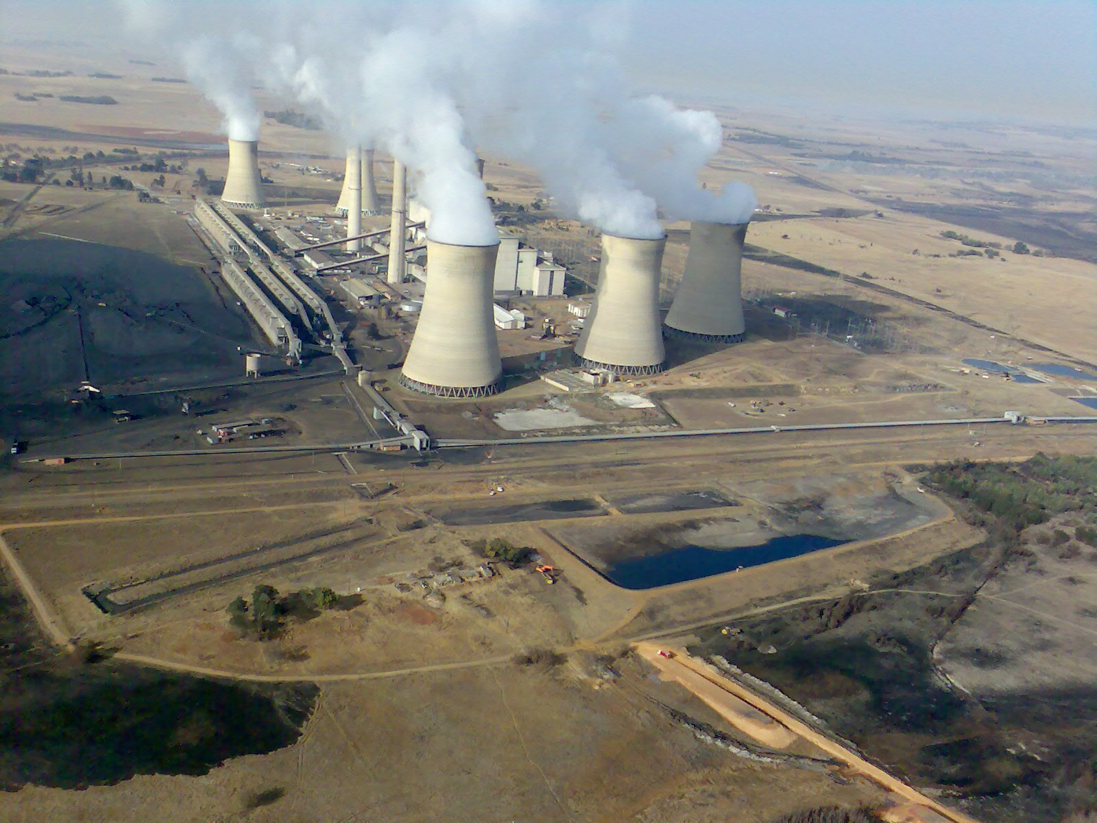 Description South Africa-Mpumalanga-Middelburg-Arnot Power Station01