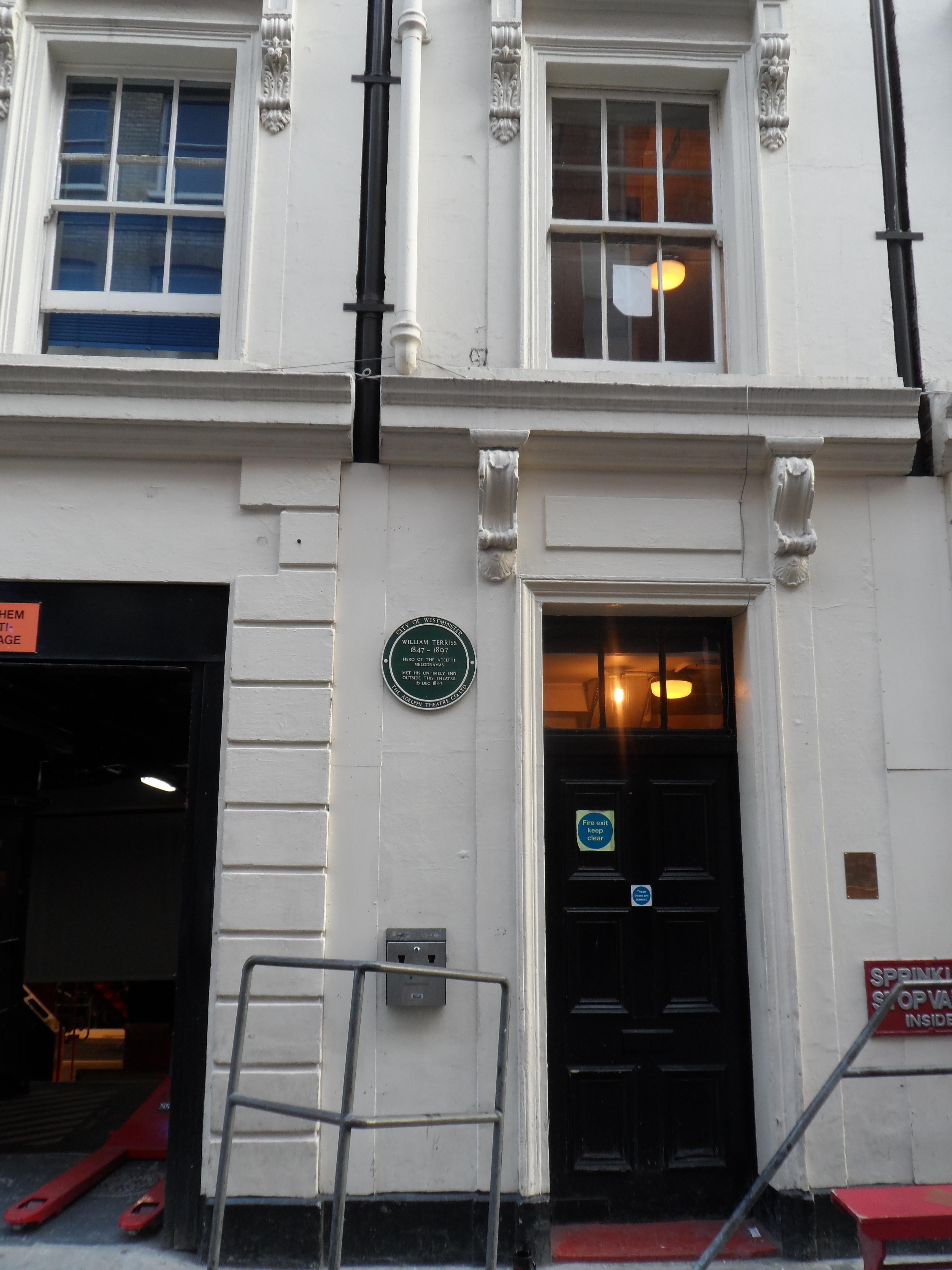 File Stage Door Adelphi Theatre Maiden Lane London