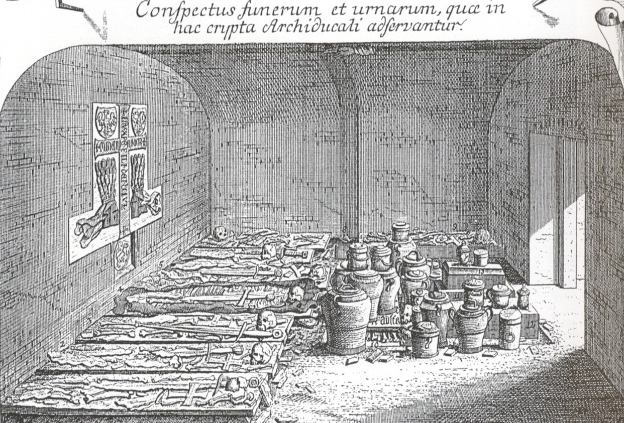 Stephansdom old Ducal Vault 1739.png