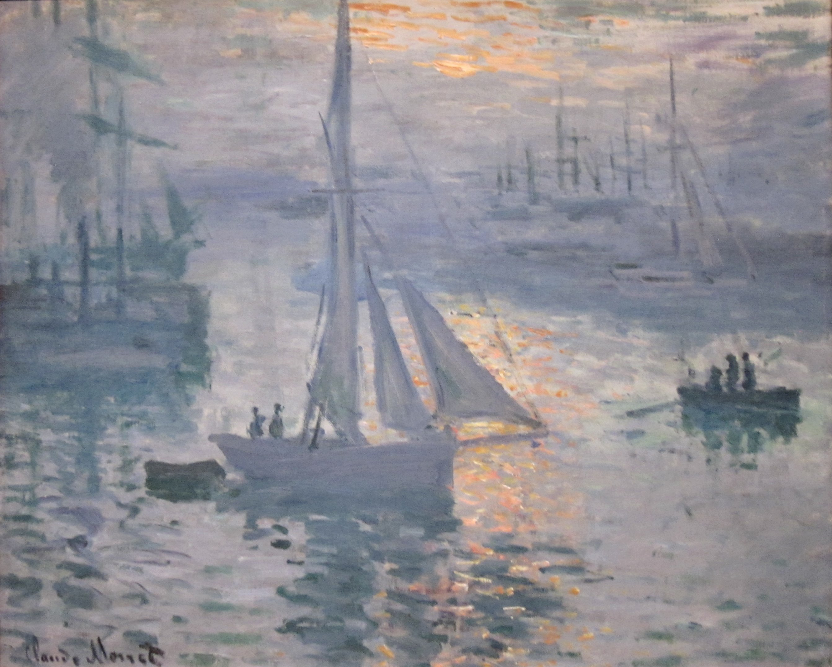 the life and times of claude monet Claude monet was born on the 5th  would spend the rest of his life painting monet also created several series  points of view and at different times of.