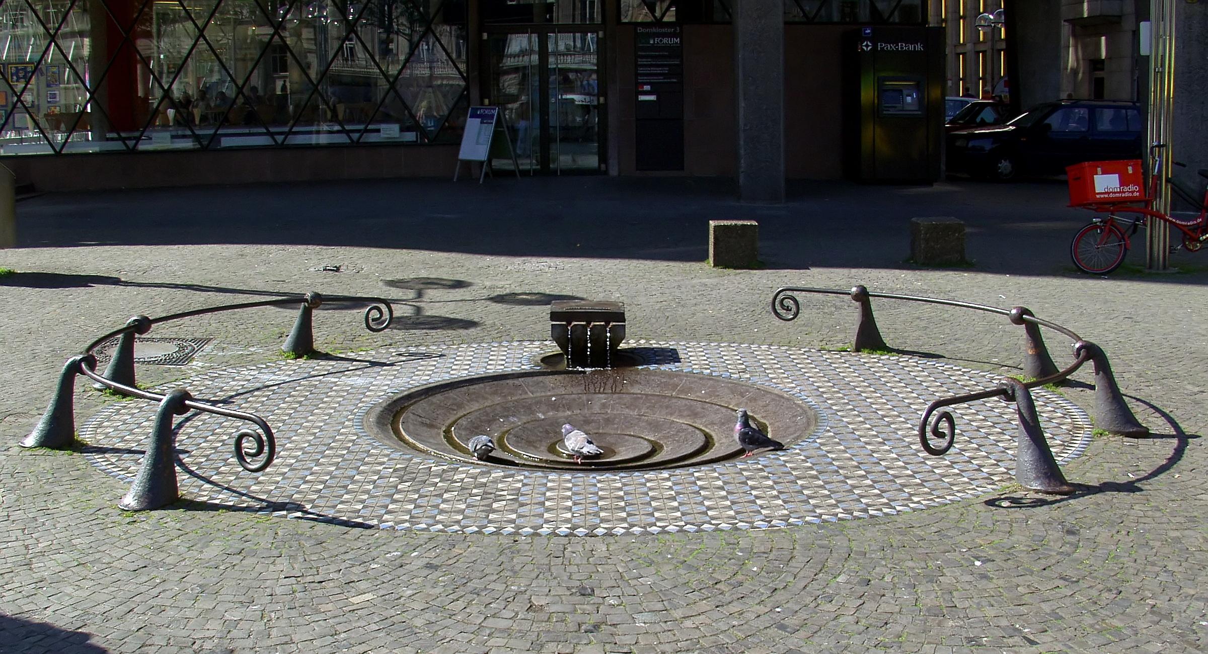 Taubenbrunnen Köln