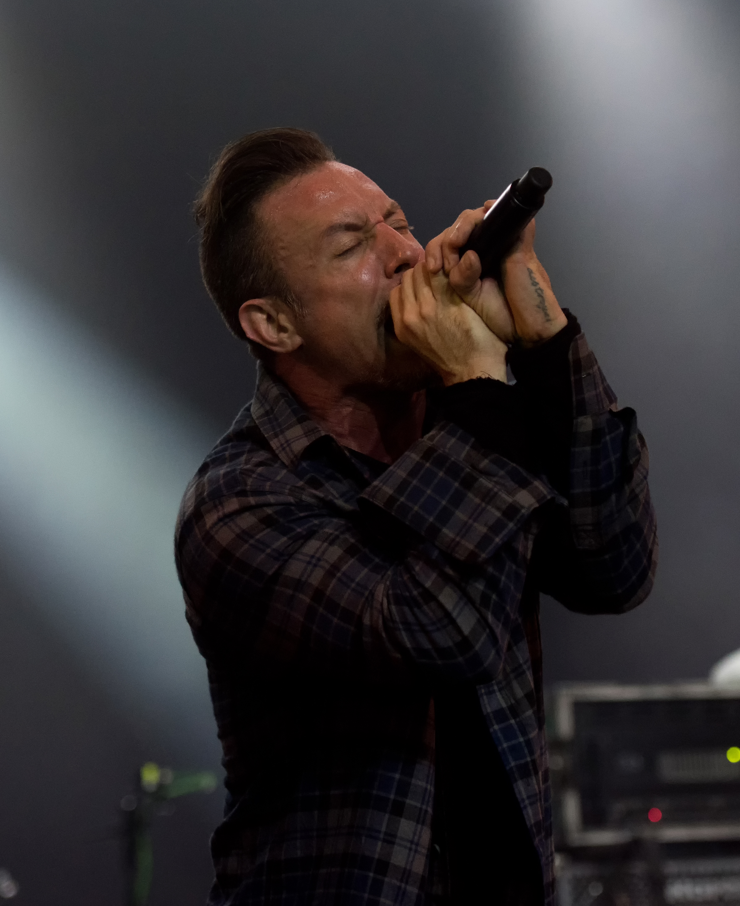 The 38-year old son of father (?) and mother(?) Greg Puciato in 2018 photo. Greg Puciato earned a  million dollar salary - leaving the net worth at 2 million in 2018