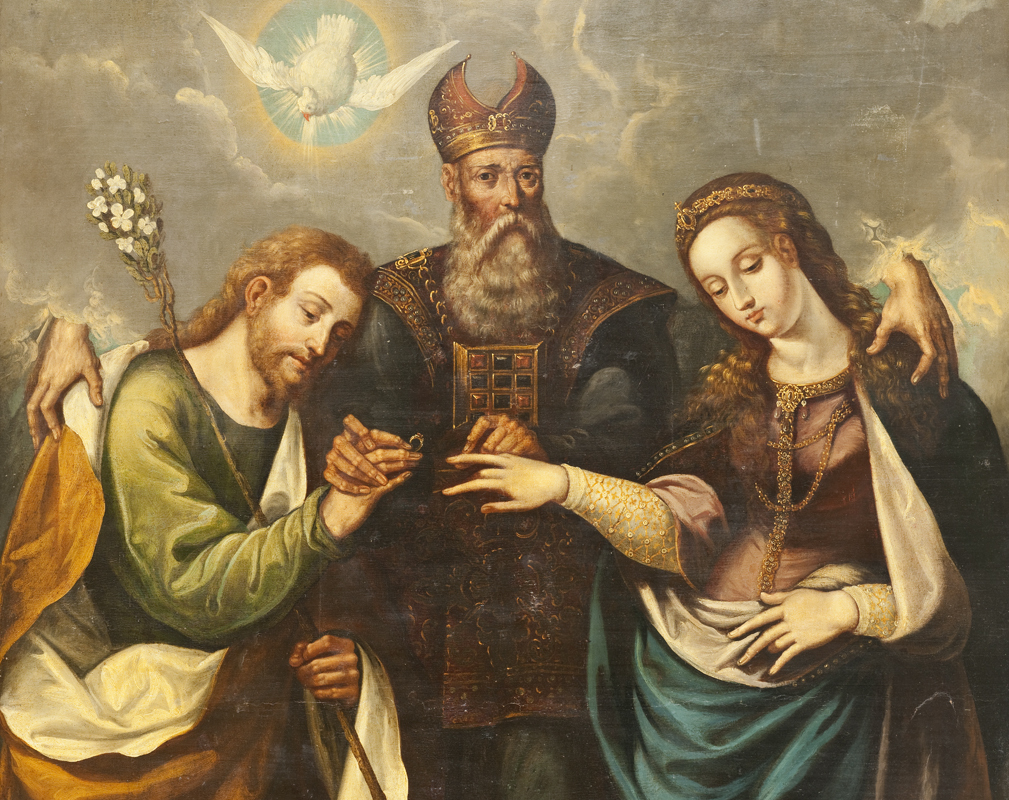 File The Marriage Of The Virgin Desposorios Del La Virgen