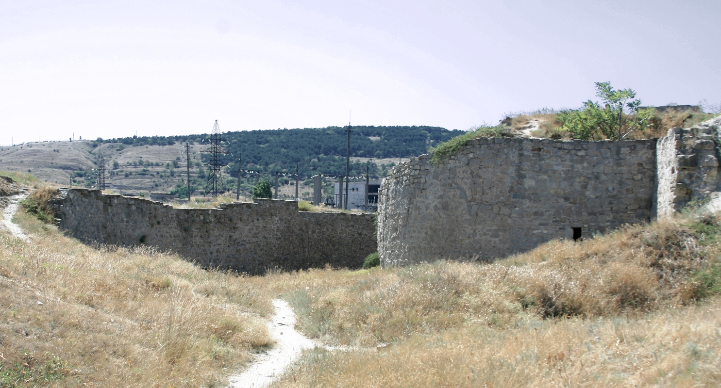 Theodosia rests of moat.jpg