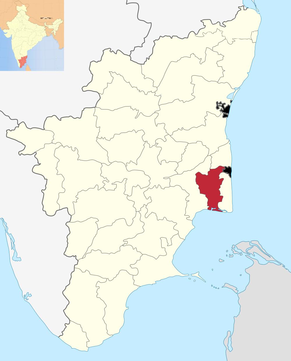 Thiruvarur in the past, History of Thiruvarur