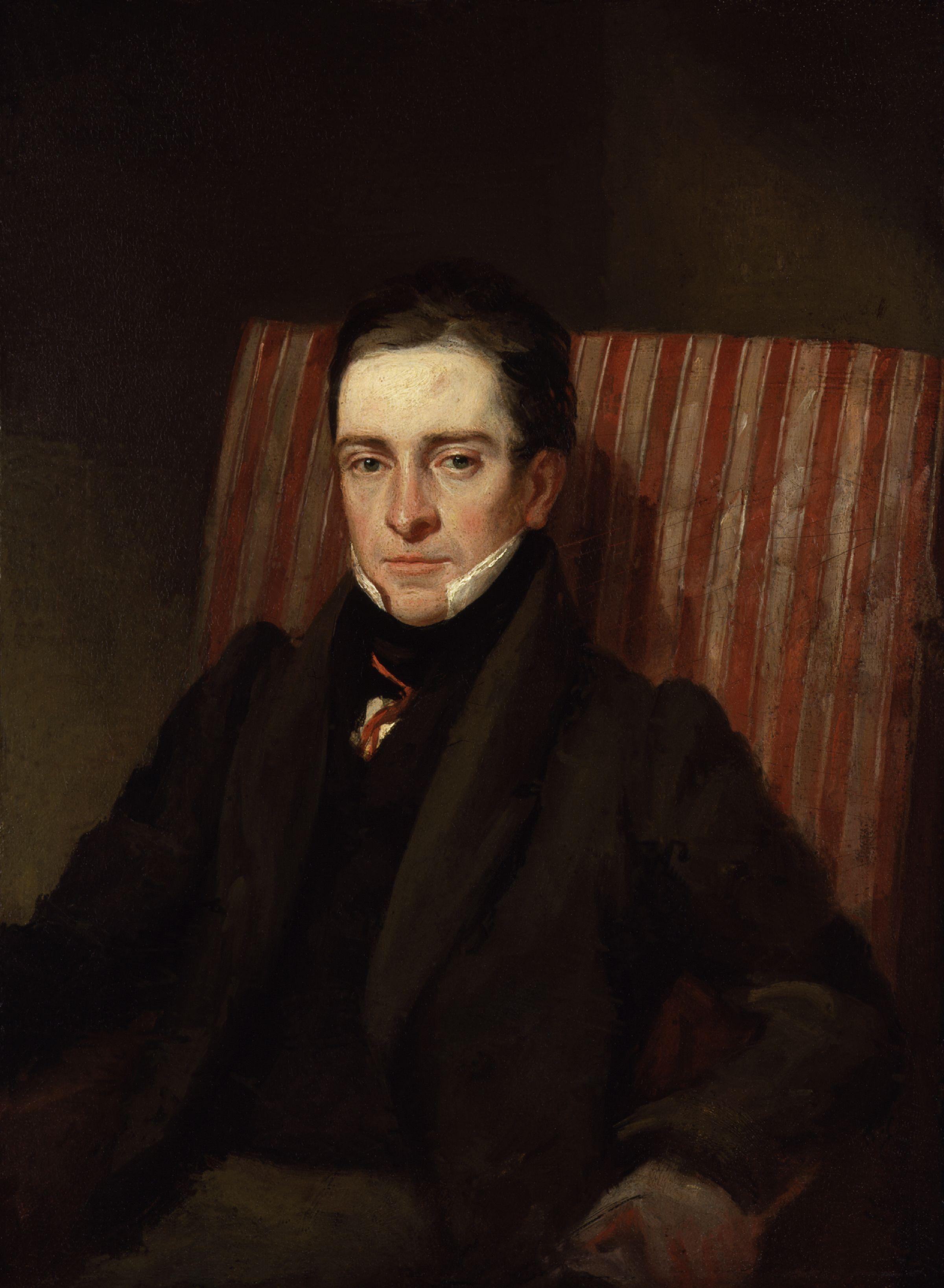 Portrait of Thomas Hood