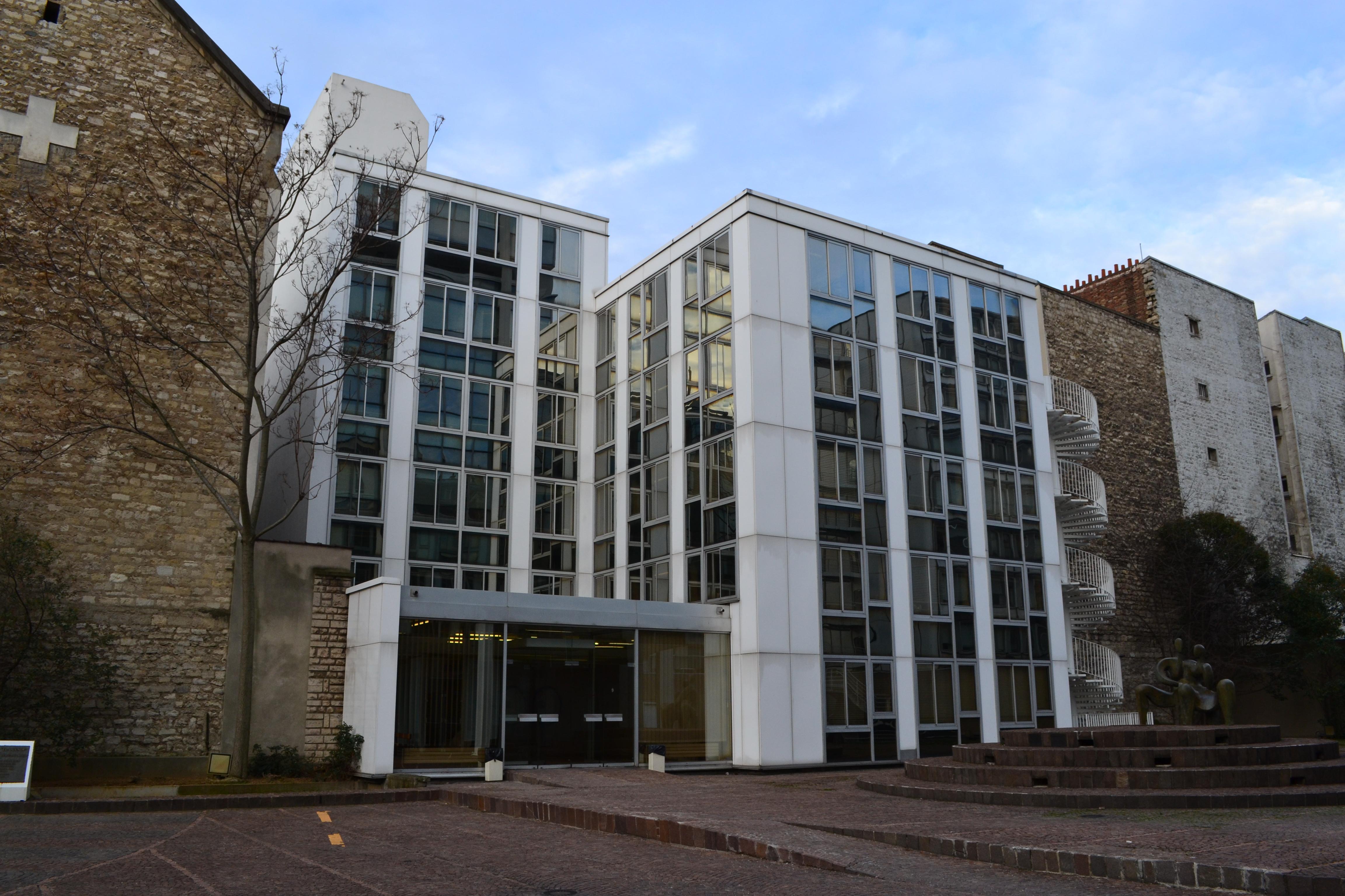 Unesco Office in Paris Unu Office at Unesco Building
