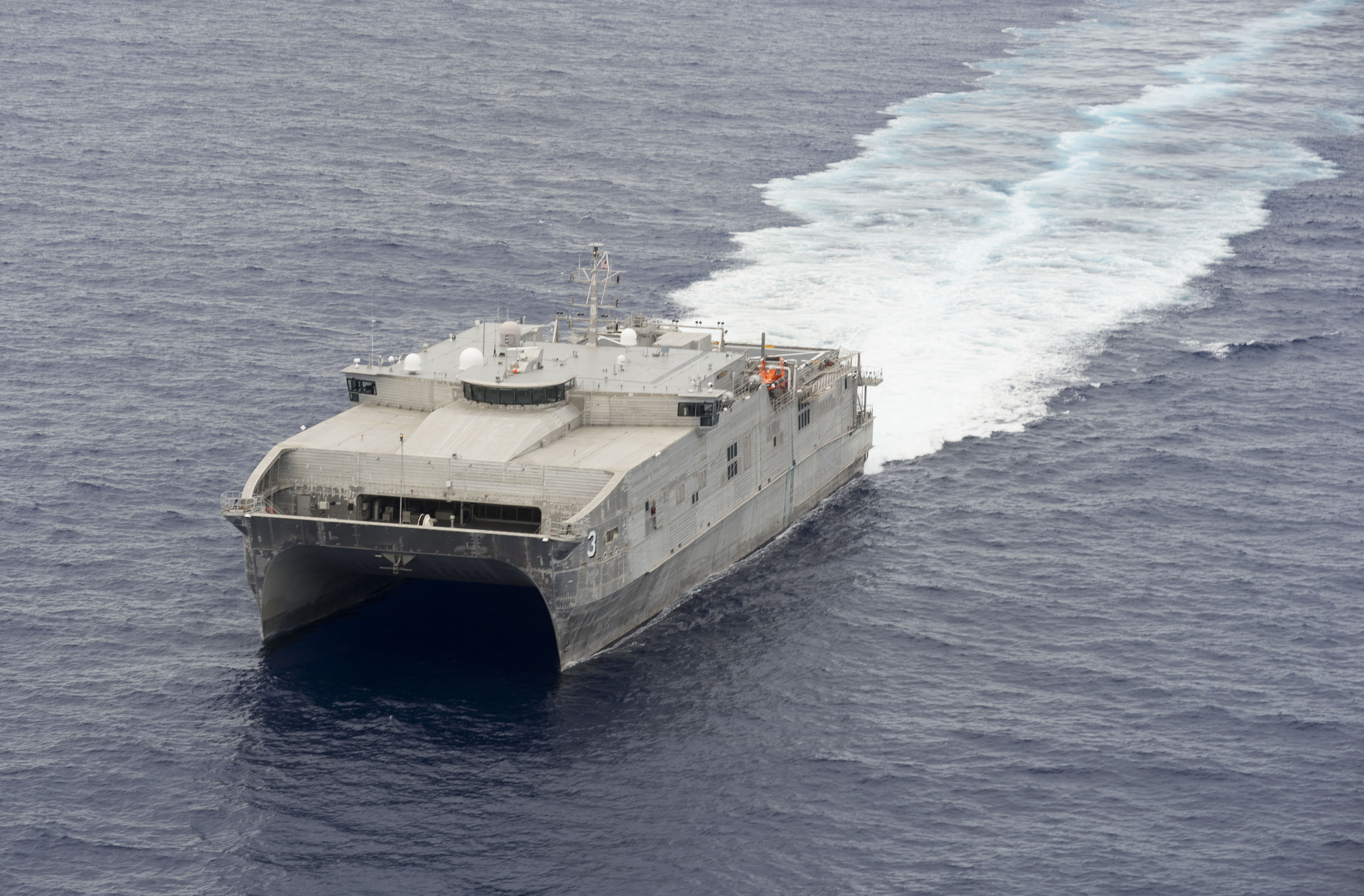 USNS Millinocket (JHSV-3) underway in May 2015.